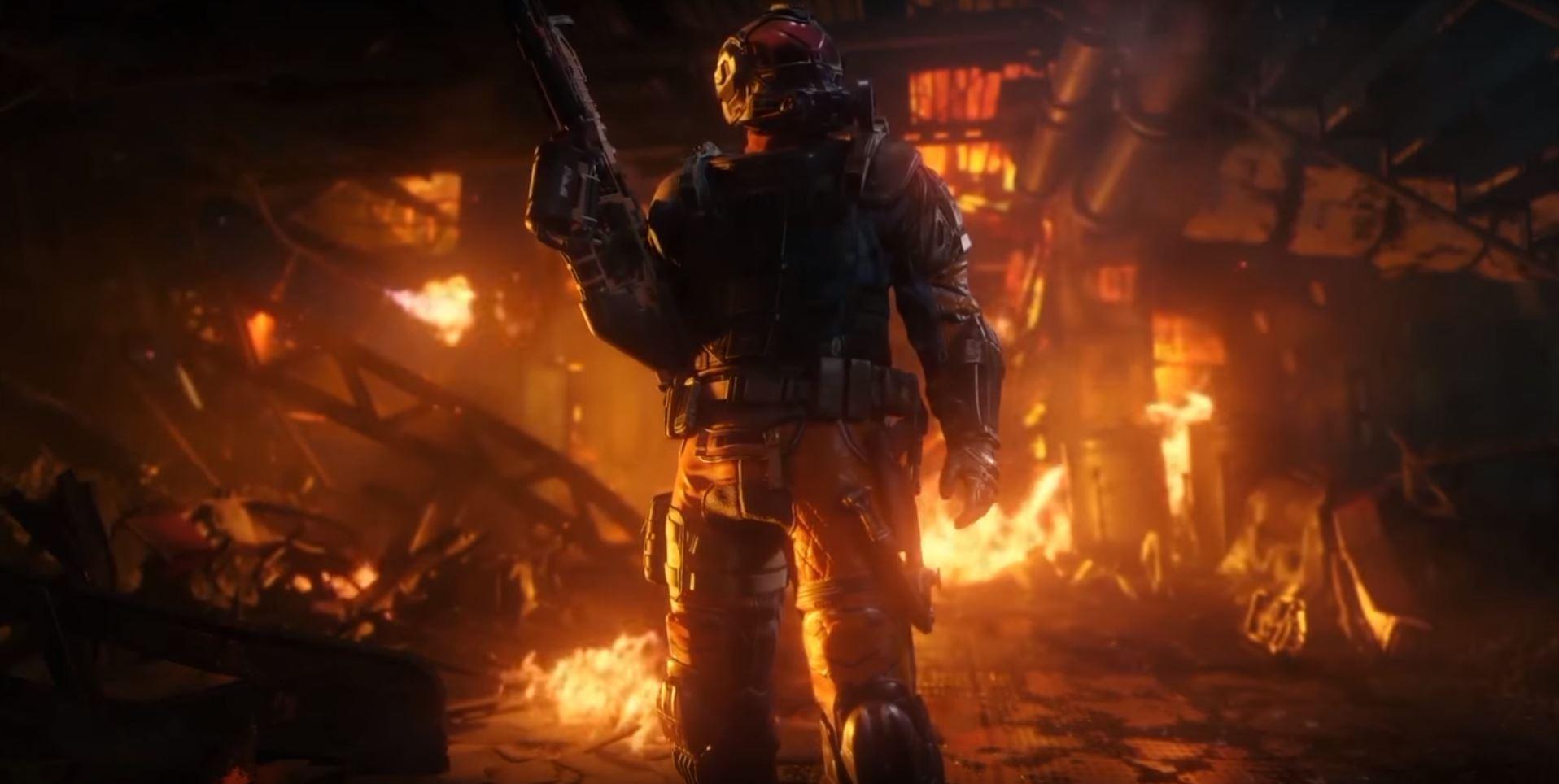 Wallpaper Fire Call Of Duty Black Ops Iii Black Ops 3