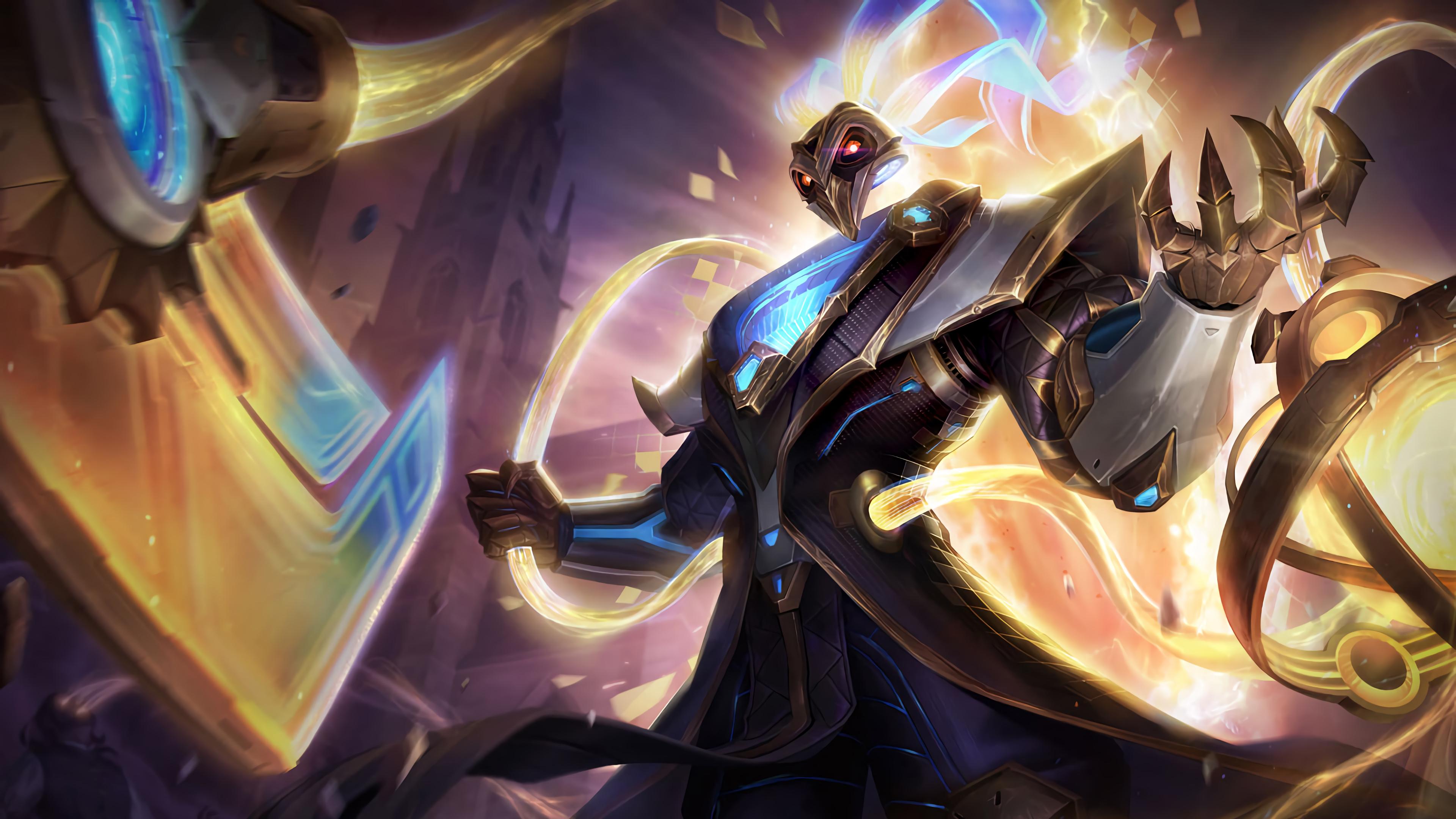 Wallpaper Fire The Prestige Thresh League Of Legends League