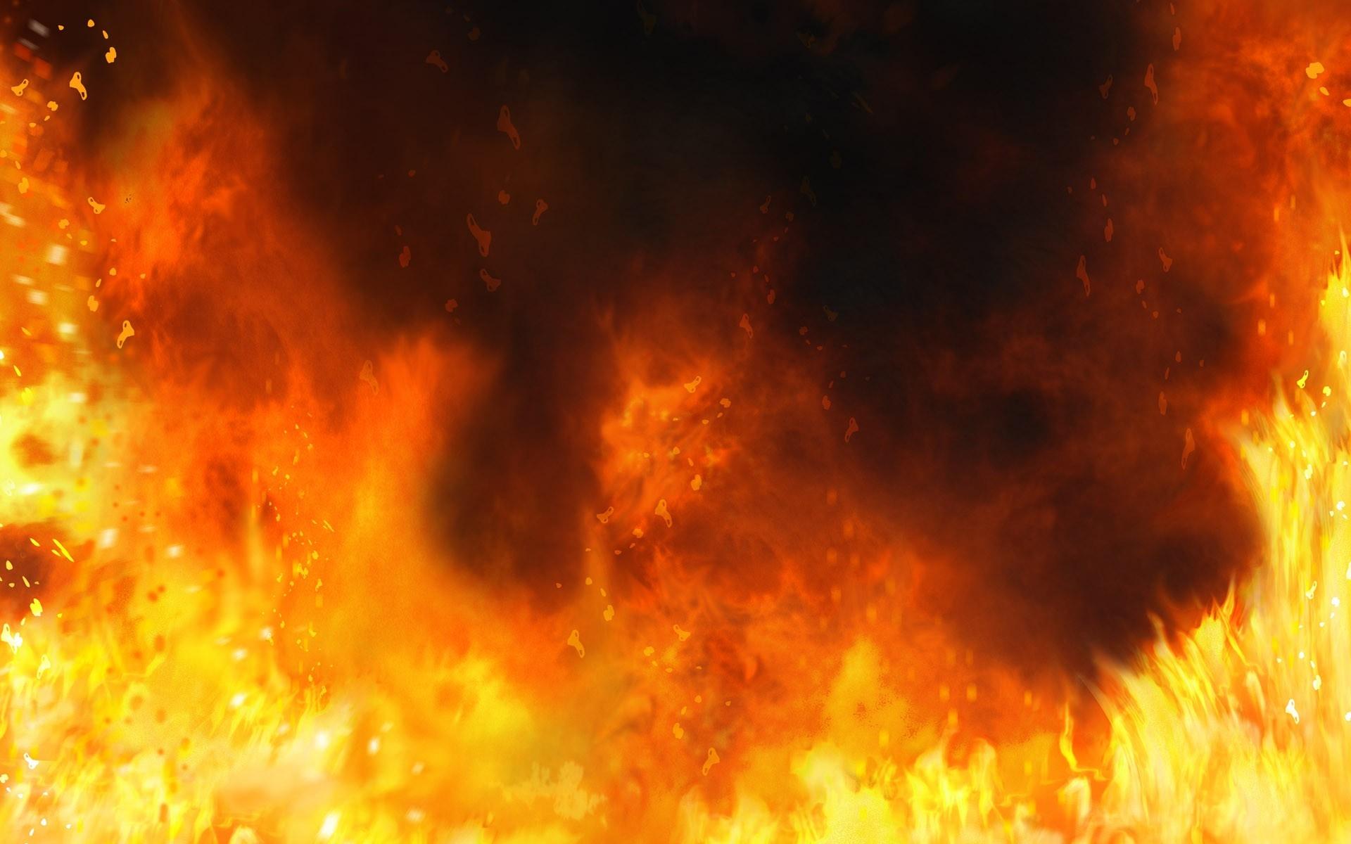 Wallpaper Fire Background Flames 1920x1200 4kwallpaper