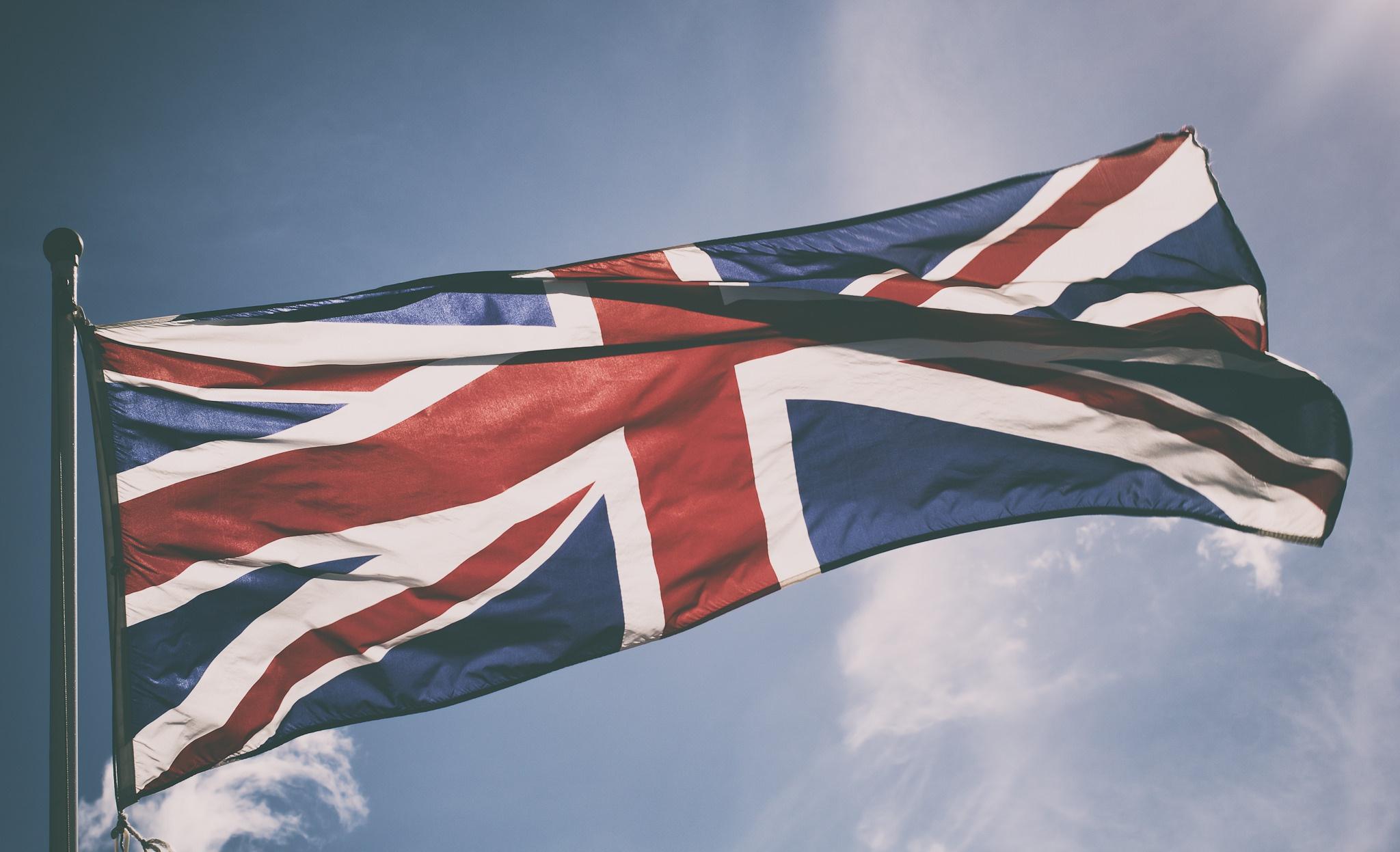 Wallpaper Flag Sky Uk Union Jack 2048x1247