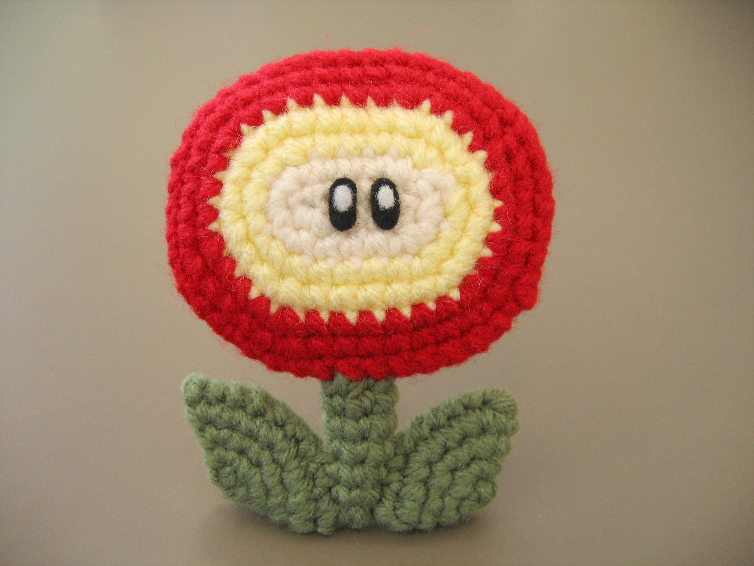 Hintergrundbilder Blume Häkeln Nintendo Mario Plüsch