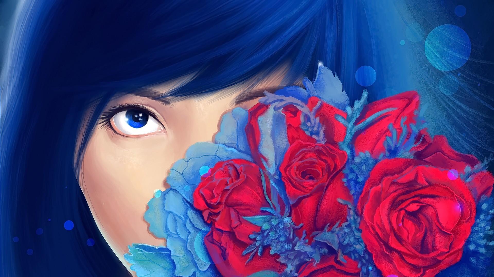 вытягивает картинки в красно синей гамме нашел один
