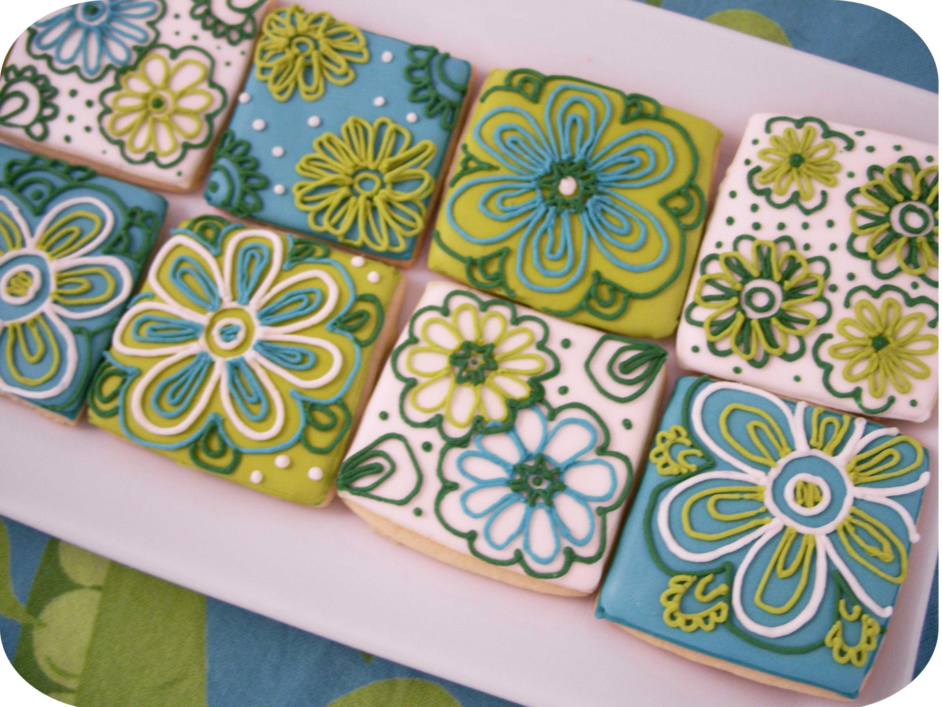 Fondos De Pantalla Flores Azul Boda Verde Galletas Vendimia