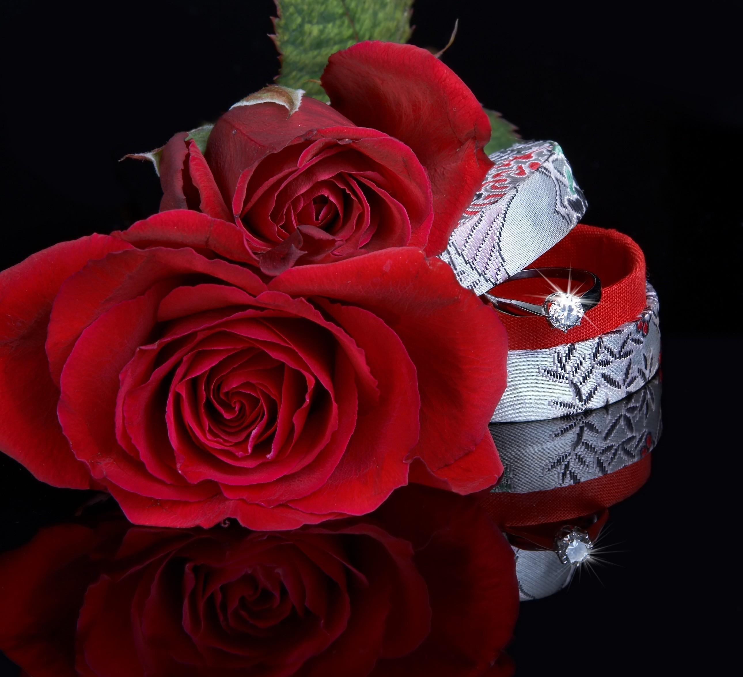 Красивые романтика, гифки любимой девушке с цветами
