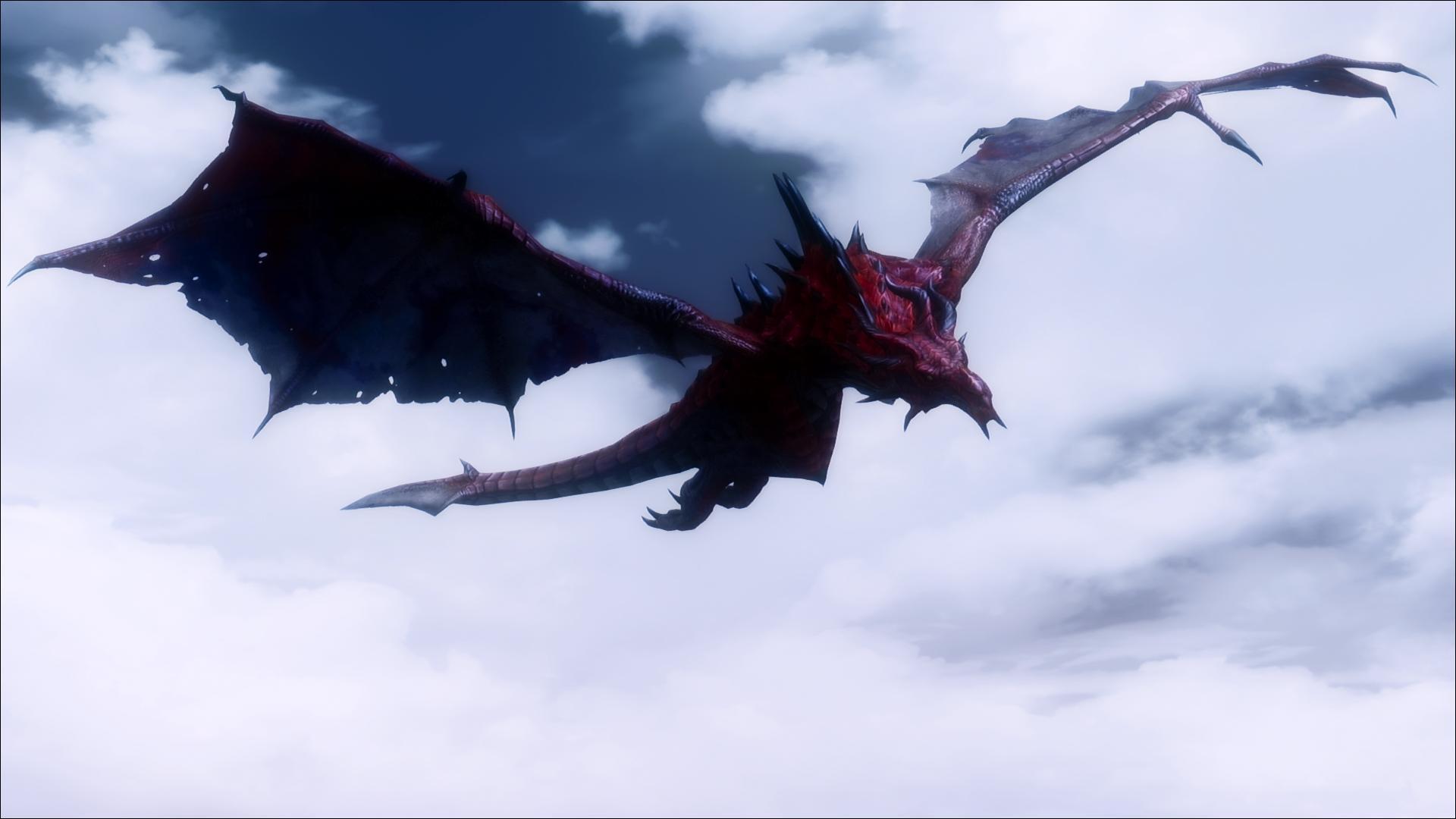 Wallpaper : flying, Mod, dragon, pics, Flight, scenic