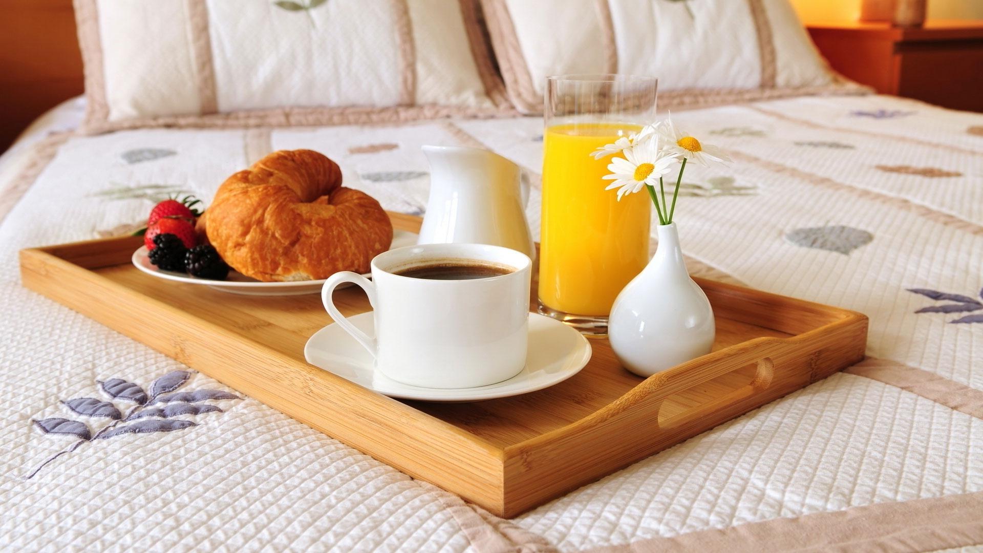 Sfondi cibo letto caff colazione succo pranzo - Colazione al letto ...