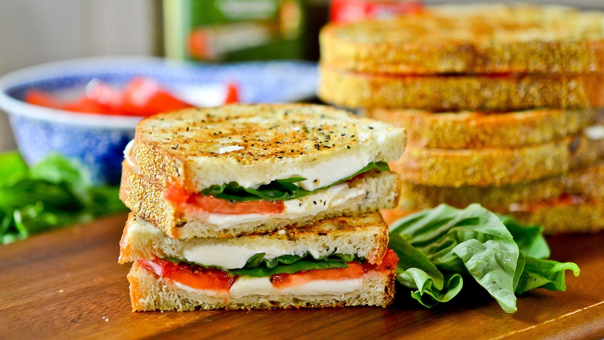 Wallpaper Blurred Breakfast Sandwiches Meal Cuisine Dish Produce Vegetable Vegetarian Food Veggie Burger Blt Ham And Cheese Sandwich 1920x1080 Izmirli 177109 Hd Wallpapers Wallhere