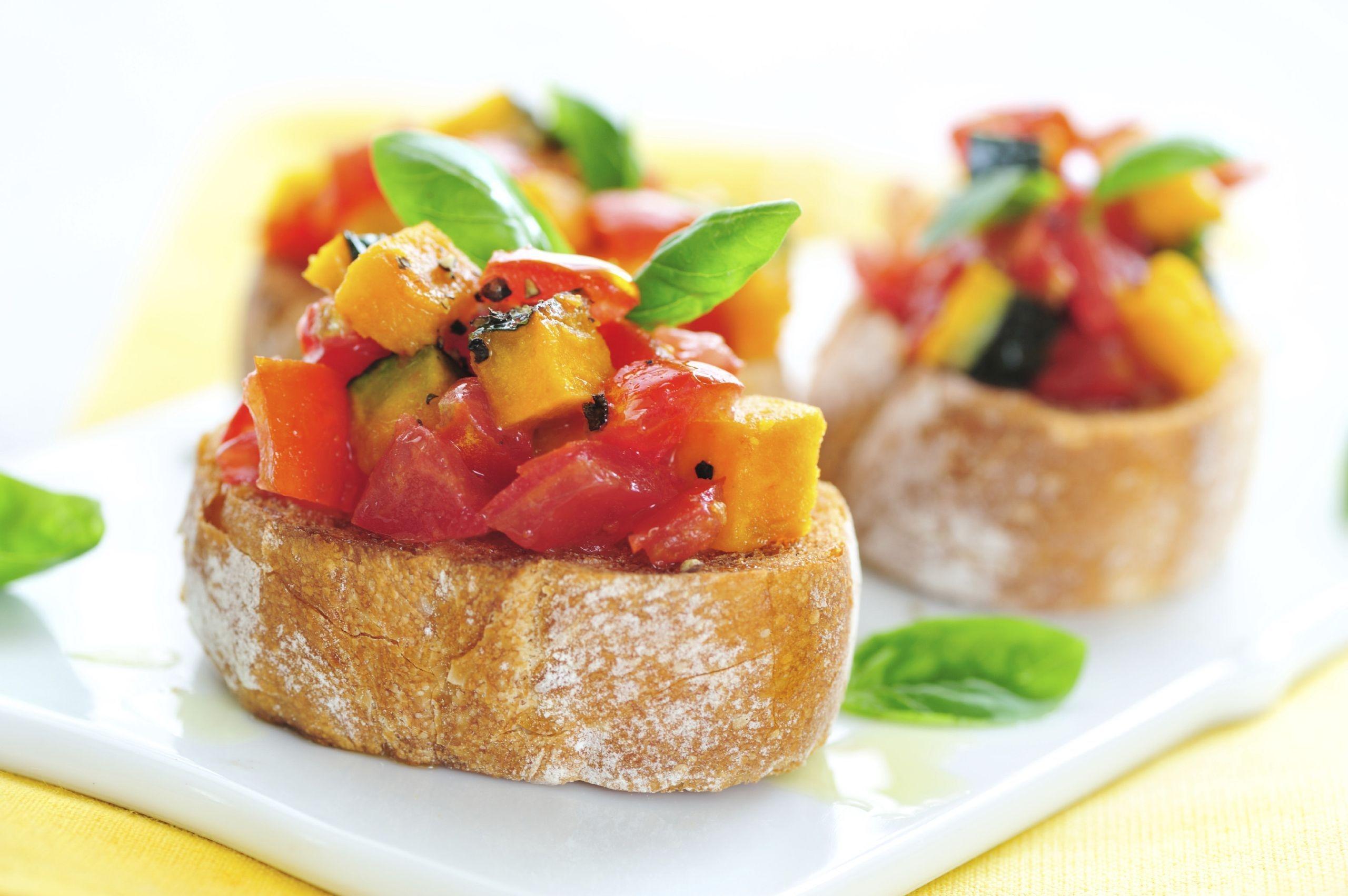 Wallpaper Makanan Roti Daging Sayuran Buah Sarapan Makan