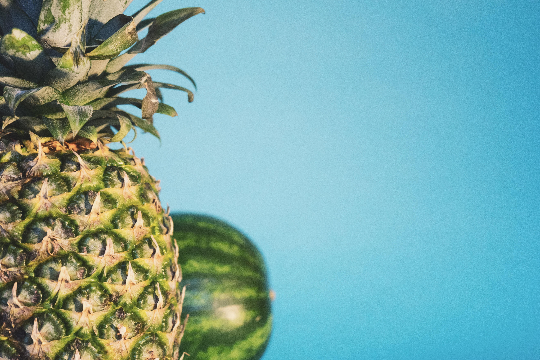 hintergrundbilder : lebensmittel, frucht, grün, ananas, blume