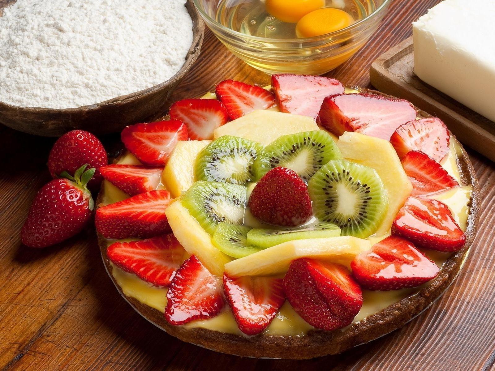Hintergrundbilder : Lebensmittel, Frucht, Erdbeeren ...