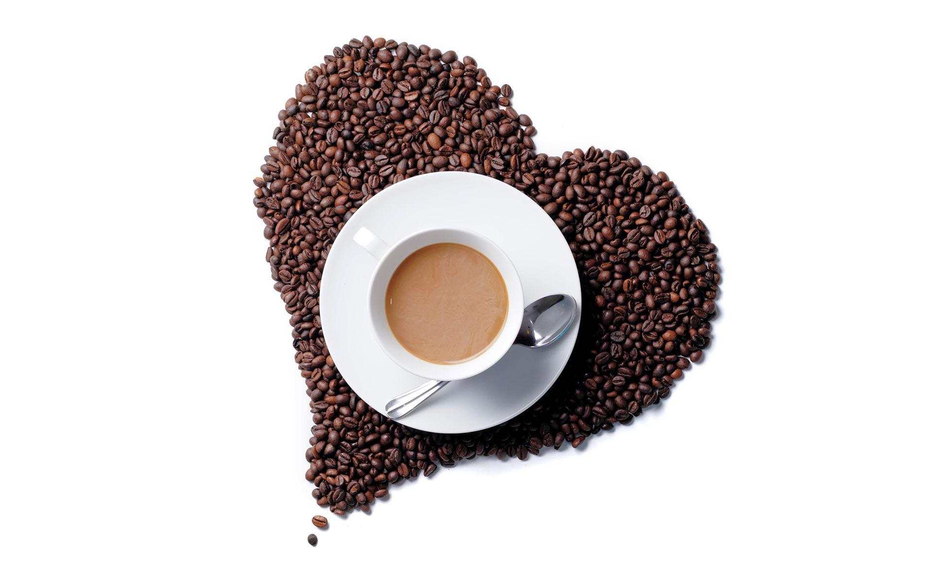 Hintergrundbilder : Lebensmittel, Herz, Kaffee, Getränk, braun ...