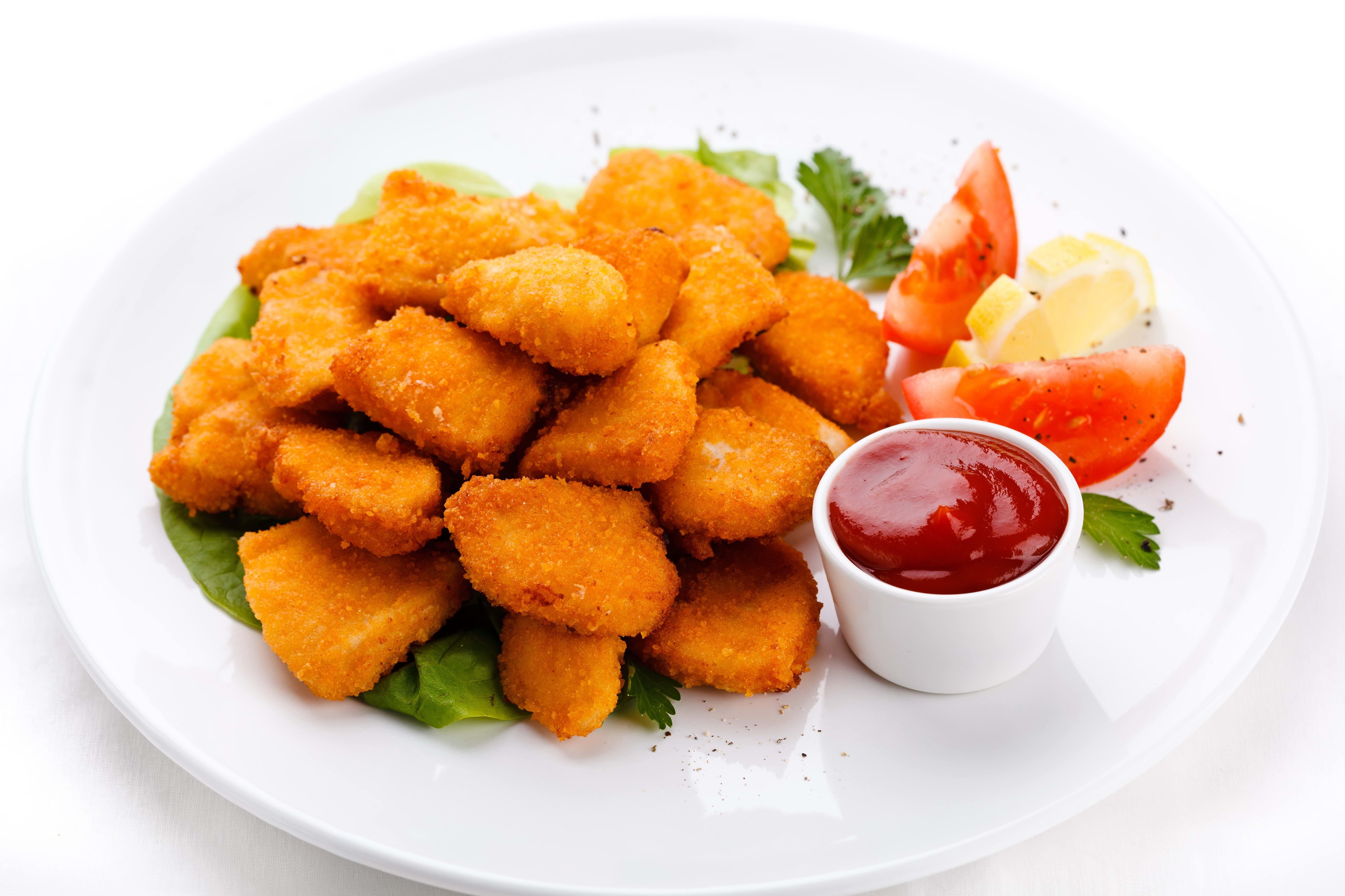 Vegetarian Fast Food Fries
