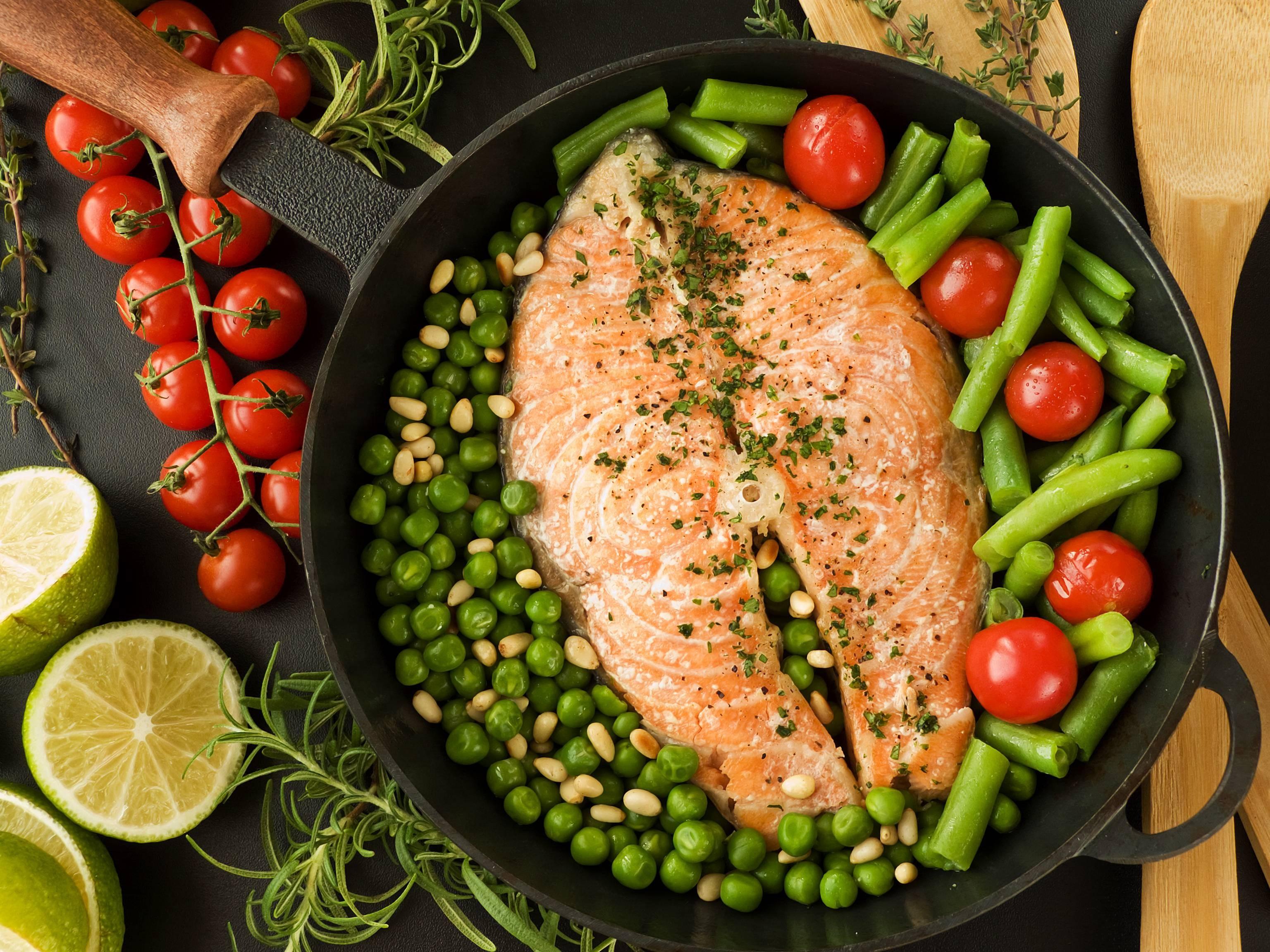 Блюда из овощей на обед