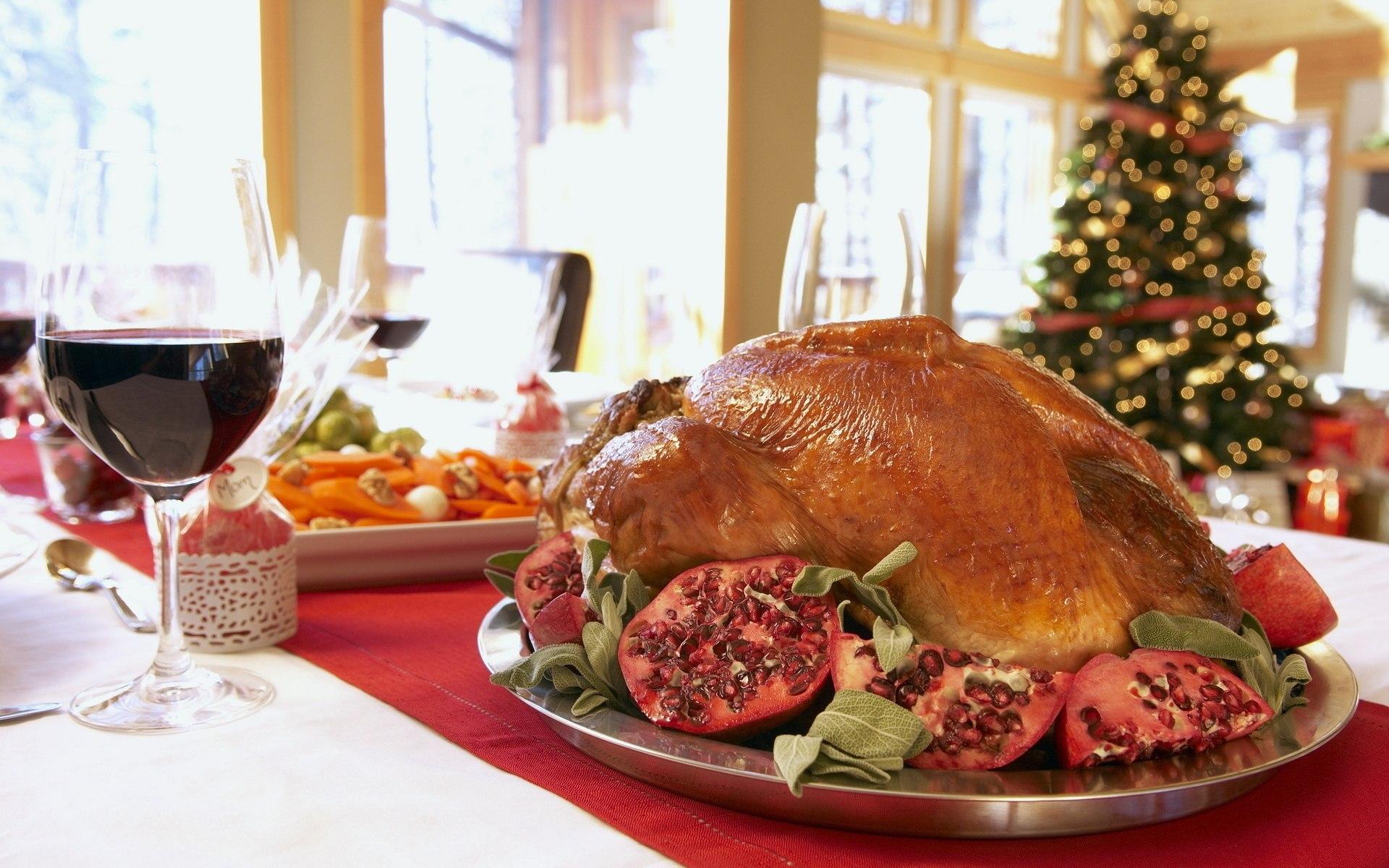 Weihnachtsessen Fleisch.Hintergrundbilder Lebensmittel Fleisch Wein Glas Weihnachten