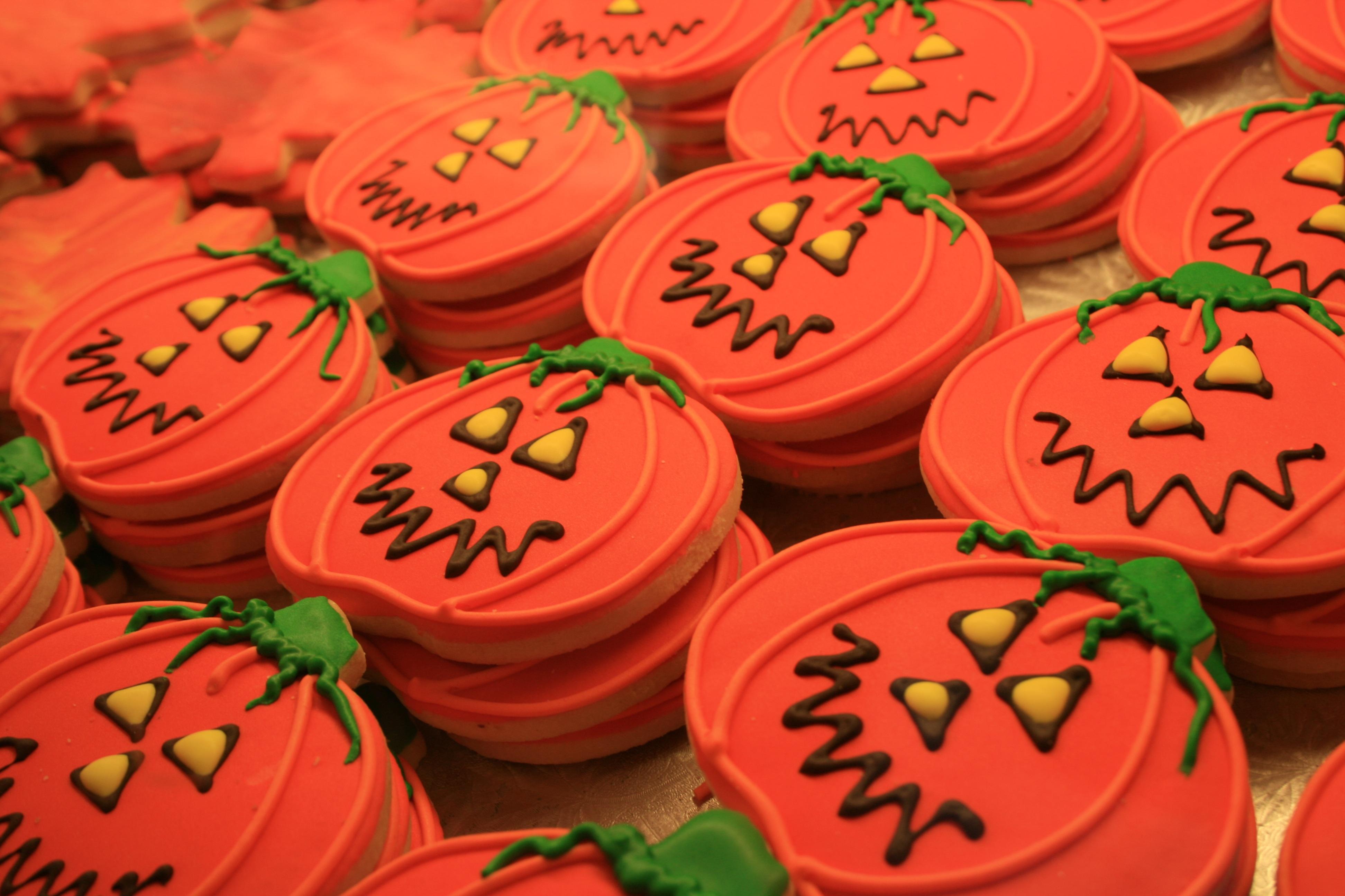 Hintergrundbilder Lebensmittel Rot Halloween Kurbis