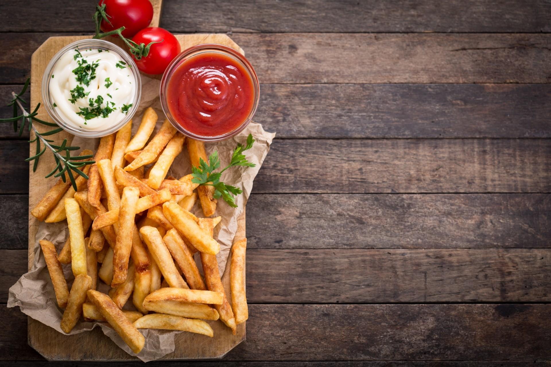 Fondo Para Comida Rapida: Fond D'écran : Aliments, Tomates, Fast Food, Frites