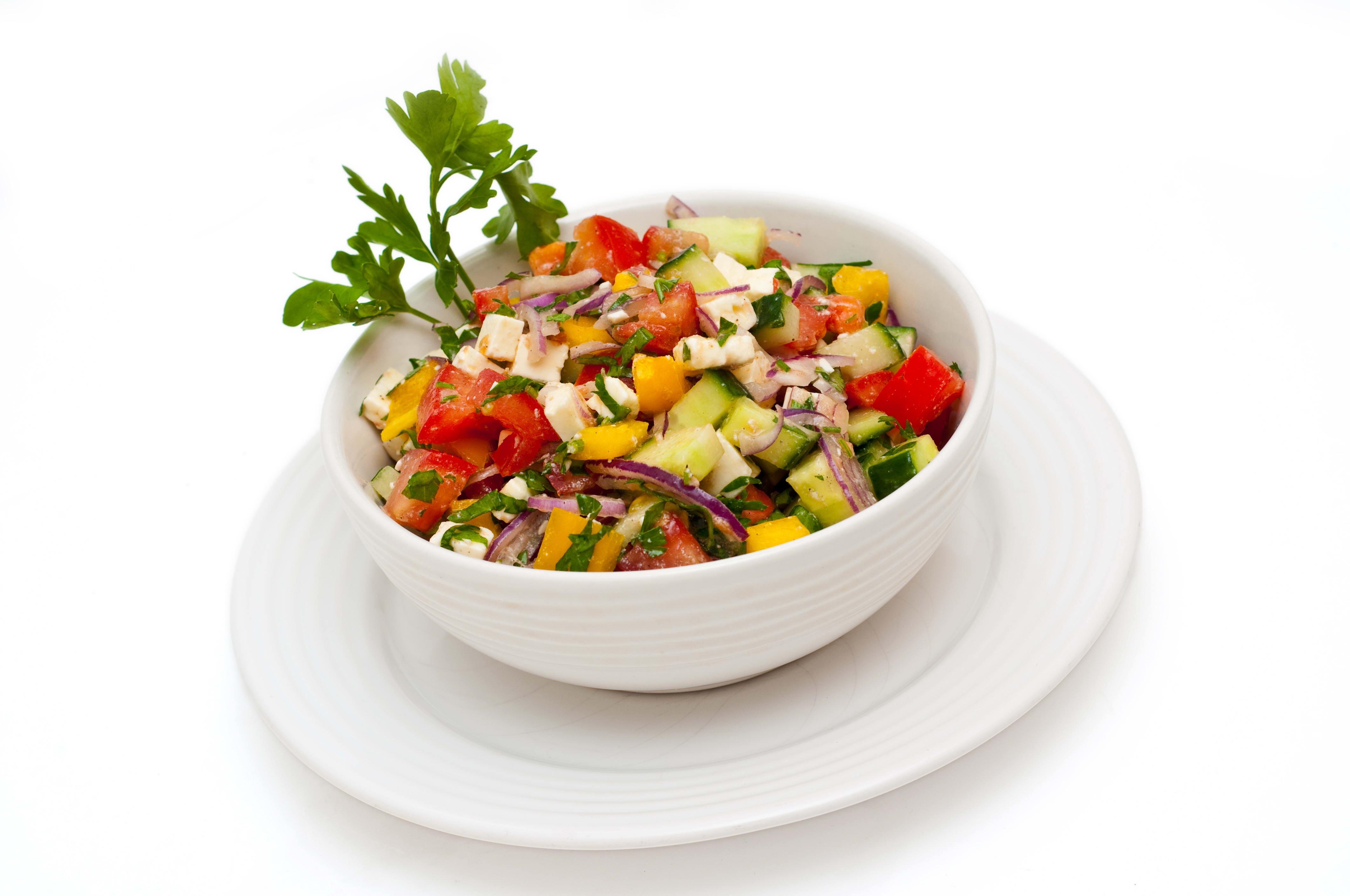 Wallpaper white background vegetables salad parsley