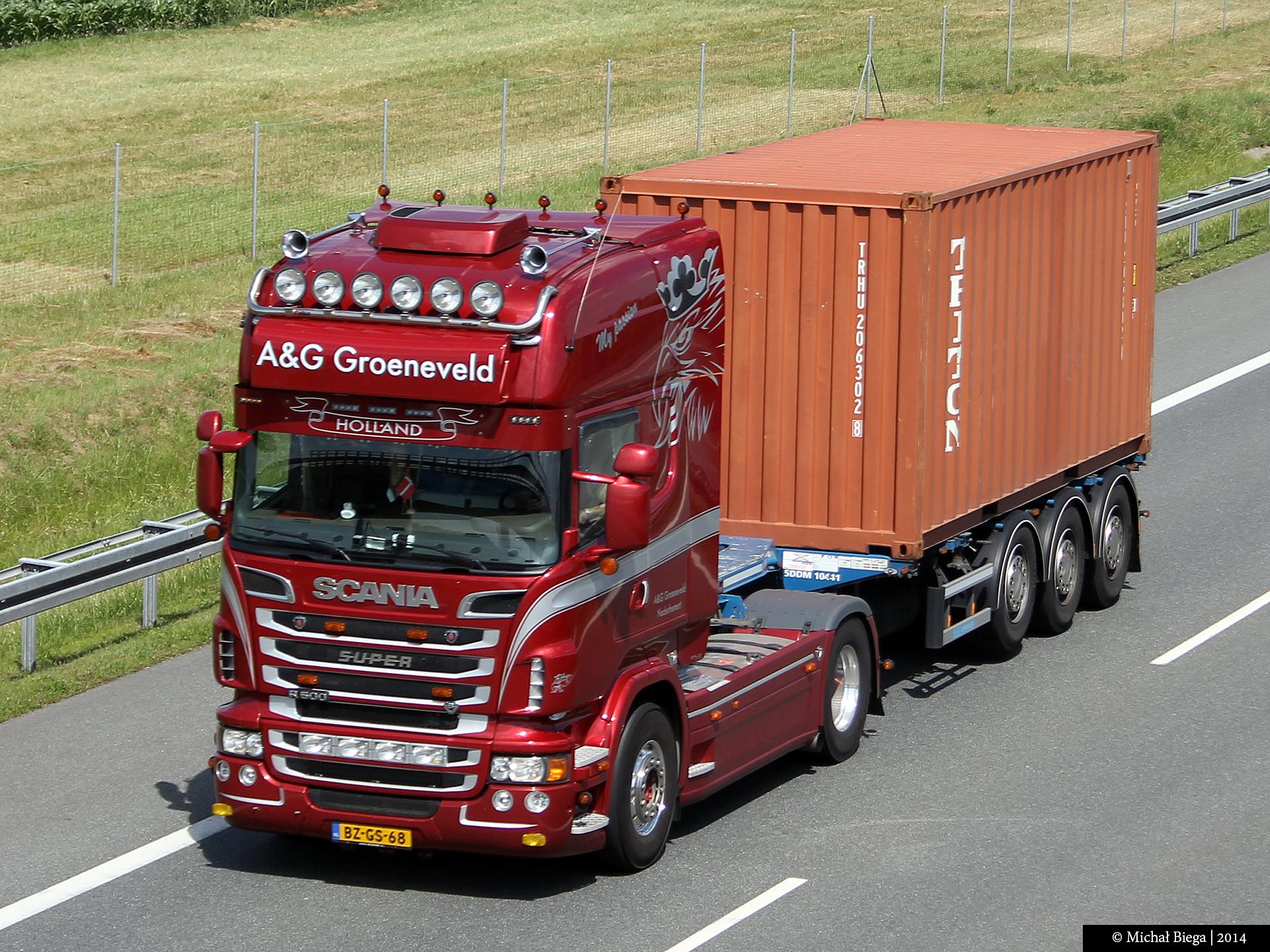 Fondos De Pantalla Para Conductor Nl A2 V8 Scania