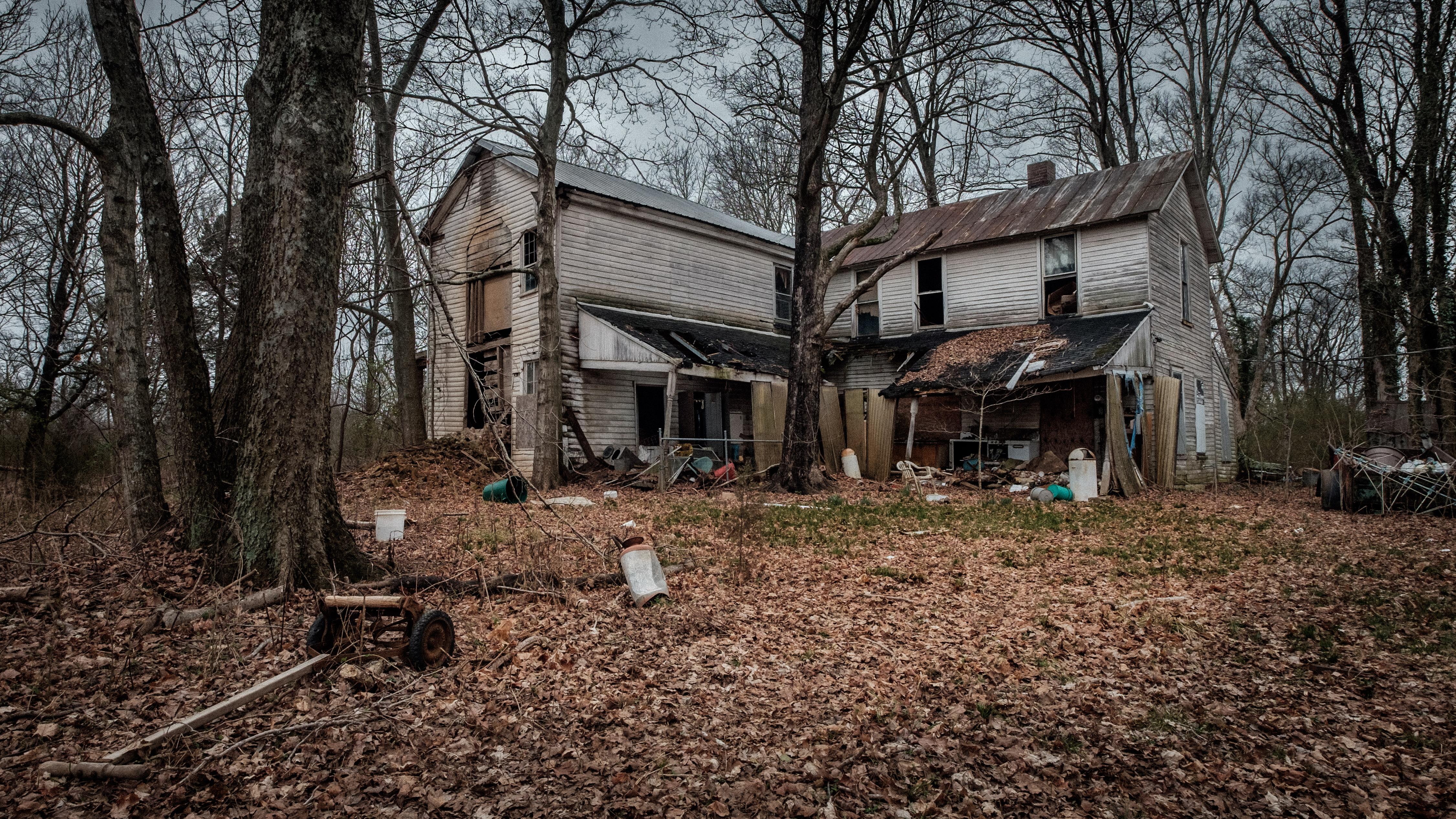 fond d 39 cran for t b timent abandonn maison village ferme cabane pourriture ruines. Black Bedroom Furniture Sets. Home Design Ideas
