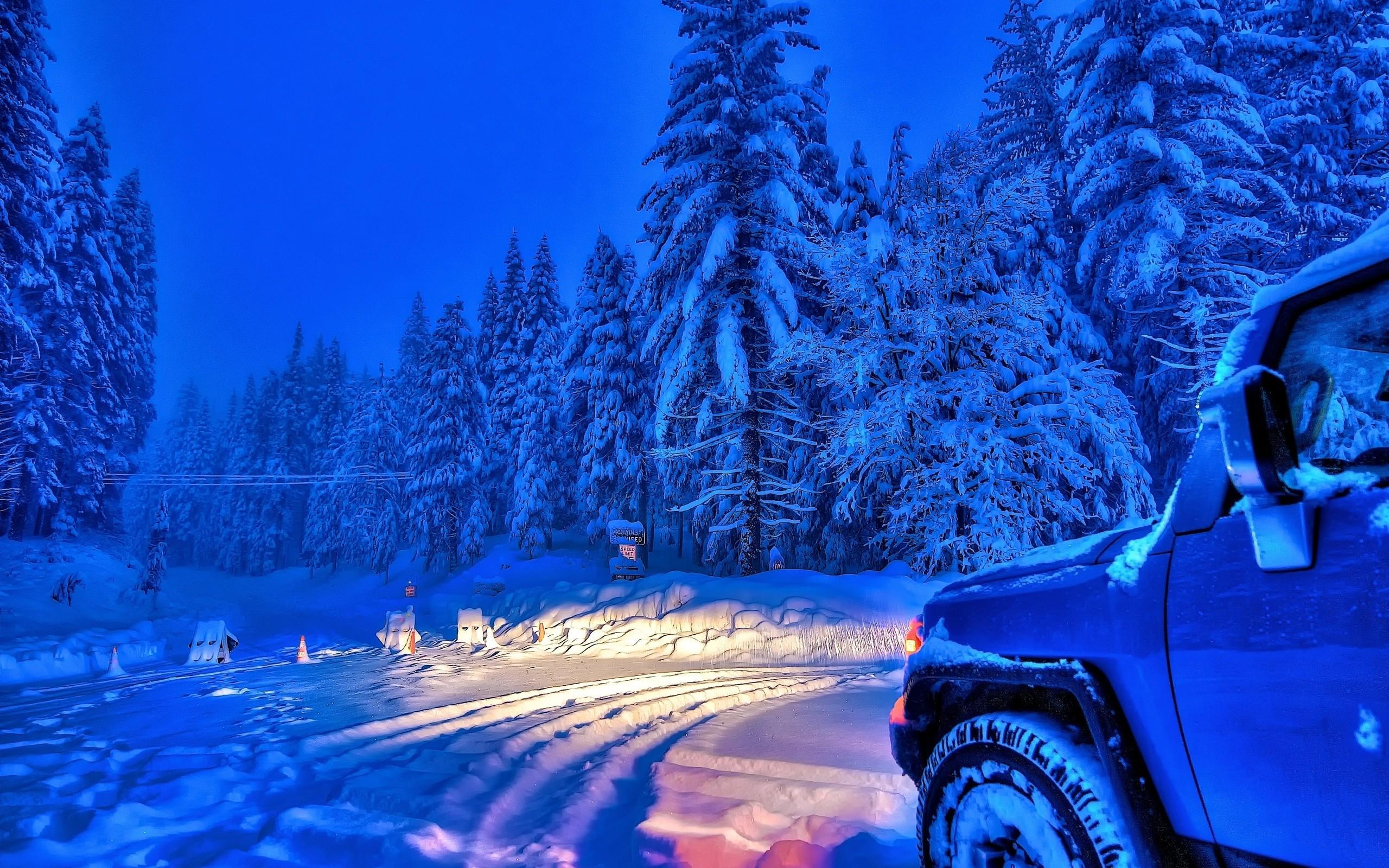 фото обои авто в снегу подметили среде автолюбителей