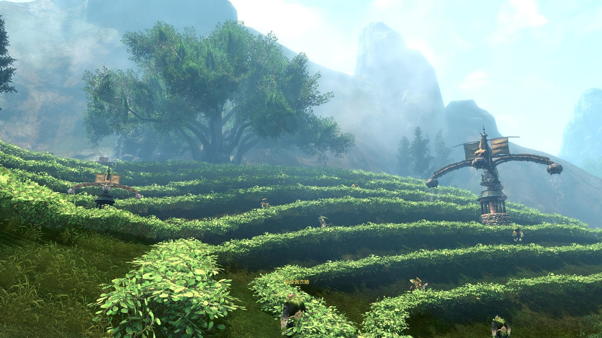 デスクトップ壁紙 森林 丘 フィールド Pcゲーム ジャングル