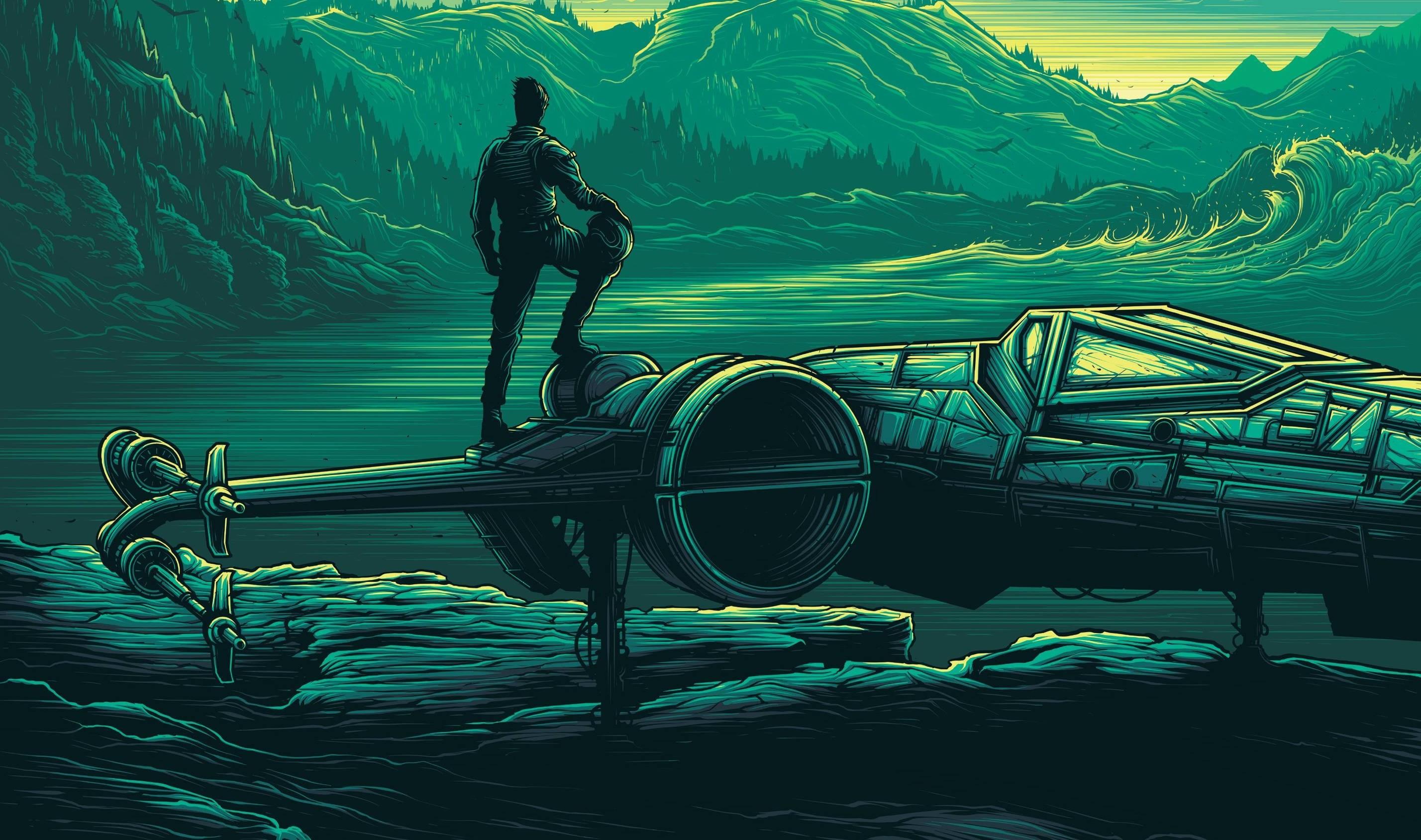 Wallpaper Forest Illustration Star Wars Vehicle Green Blue Waves Pastel Pilot X Wing Cyan Ghost Ship Mountain Screenshot Computer Wallpaper 2856x1689 Px 2856x1689 Wallhaven 633881 Hd Wallpapers Wallhere