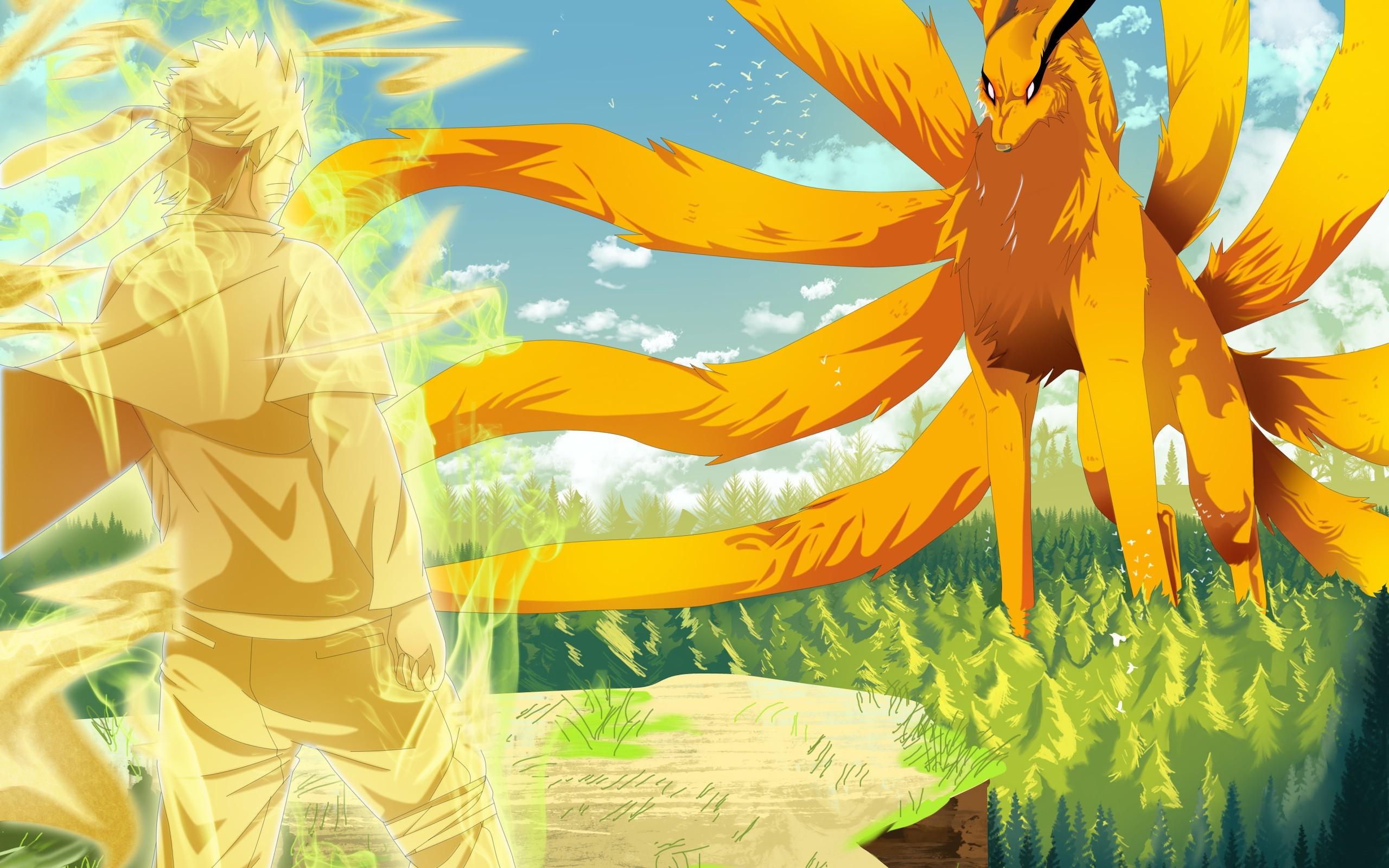 Simple Wallpaper Naruto Yellow - forest-illustration-anime-yellow-cliff-Naruto-Shippuuden-dragon-Uzumaki-Naruto-mythology-Kyuubi-flower-flora-screenshot-197578  Gallery.jpg