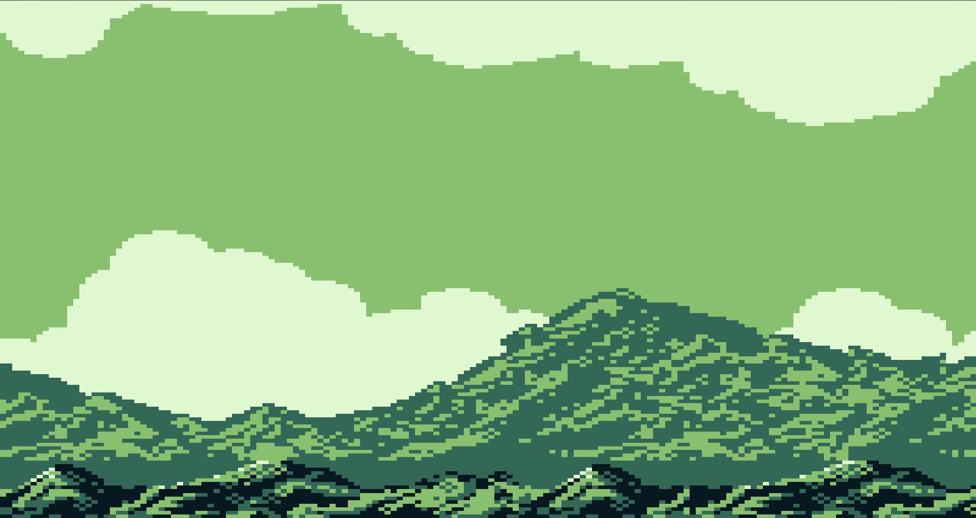 Fond Décran Forêt Illustration Pixel Art Herbe Vert