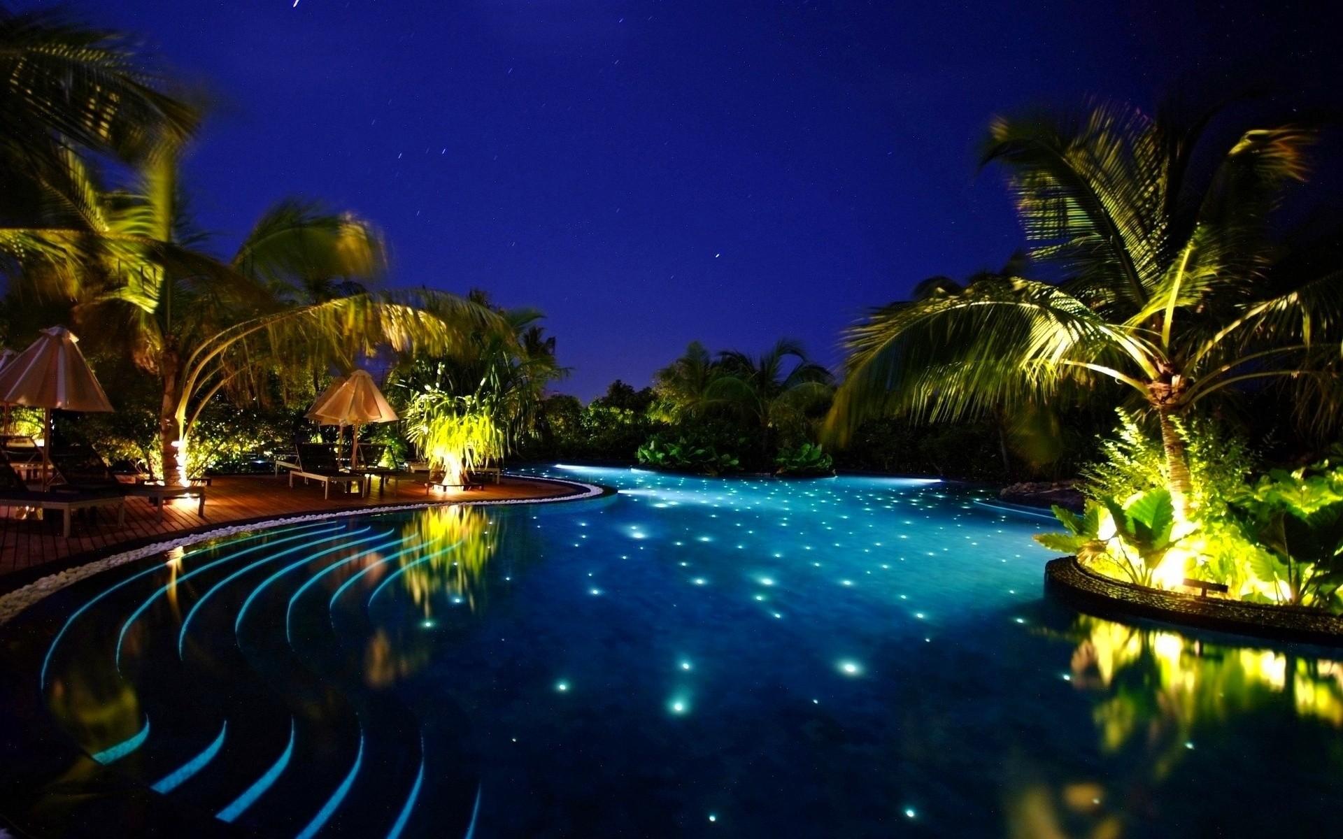 Картинки тропическая ночь