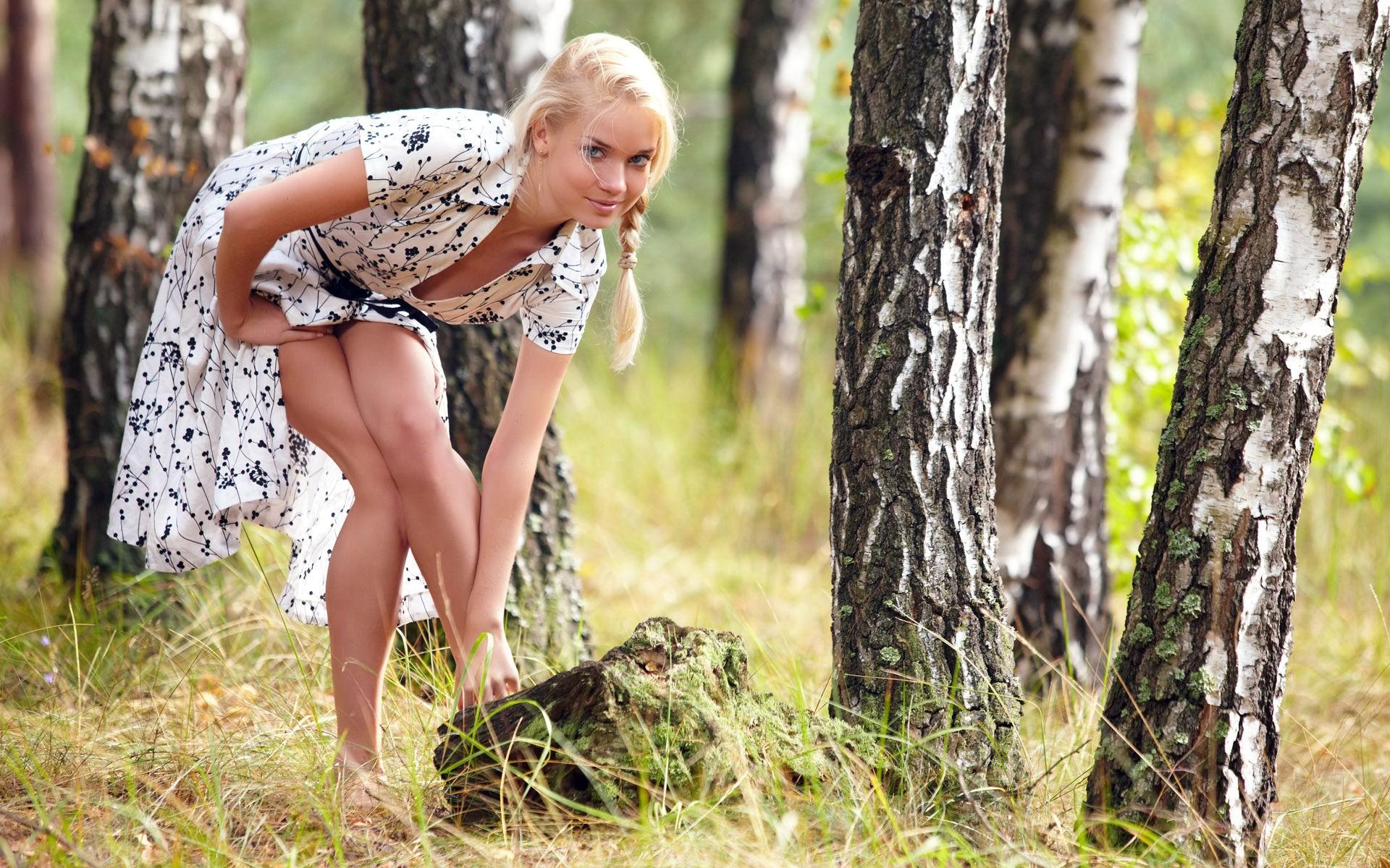 Таджичку поимел в лесу любительская съемка