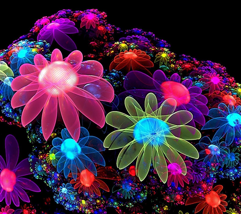 Wallpaper : Fractal Flowers, Color, Flower, Flora, Petal