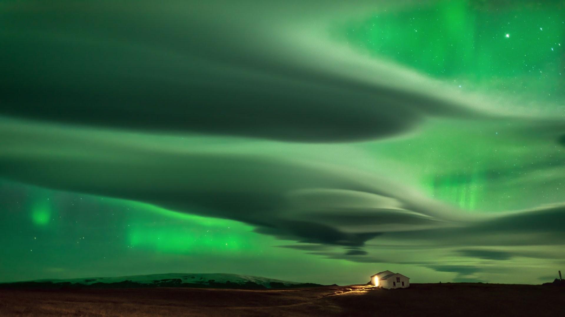 Sfondi Galassia Pianeta Nasa Cielo Stelle Verde Nebulosa