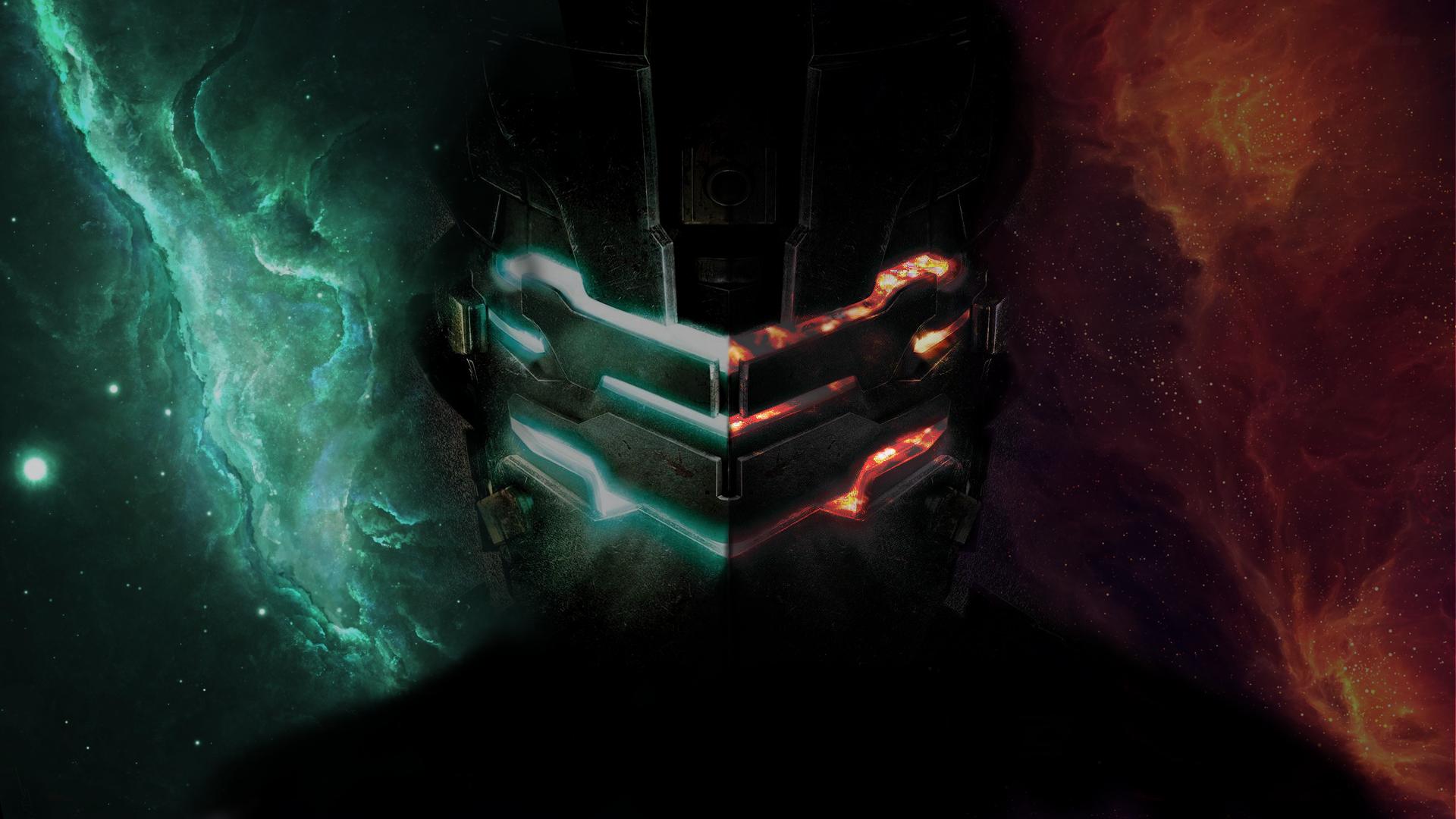 Wallpaper Galaxy Armor Dead Space 2 Dead Space Isaac