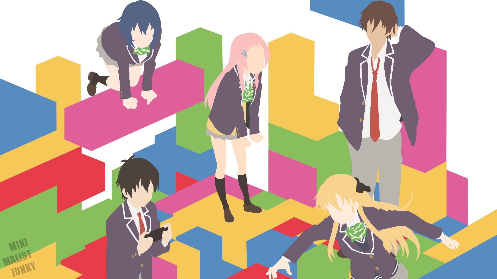 Wallpaper Gamers Amano Keita Hoshinomori Chiaki Karen Tendou