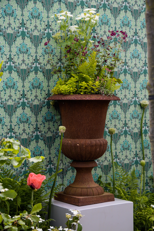 Baggrunde : have, væg, grøn, Indretning, baggård, KUNST, efterår ...