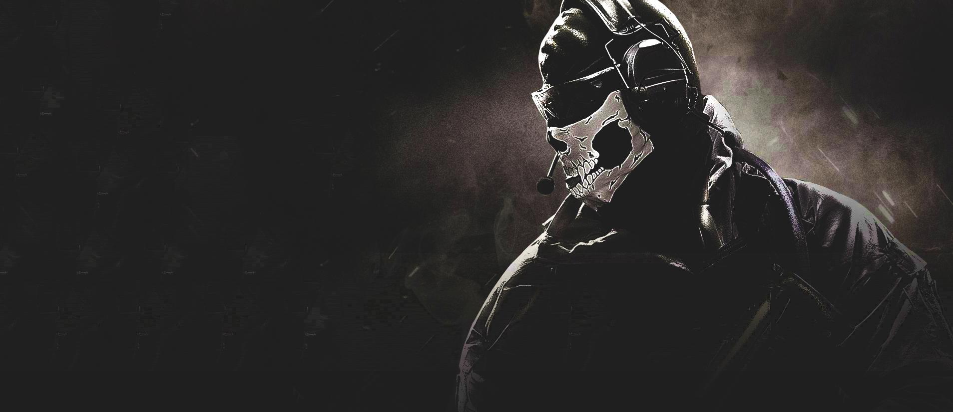 Wallpaper Ghost Call Of Duty Call Of Duty 4 Modern Warfare