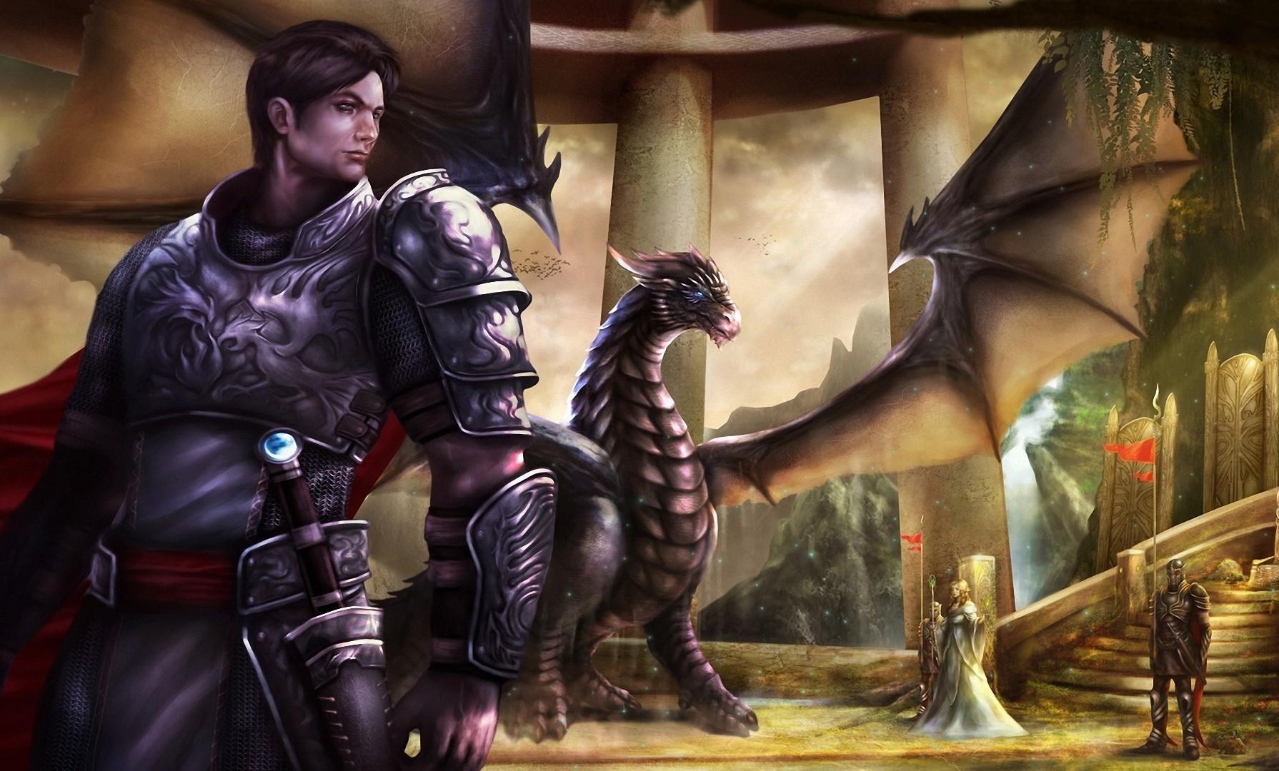 Воин дракона картинки