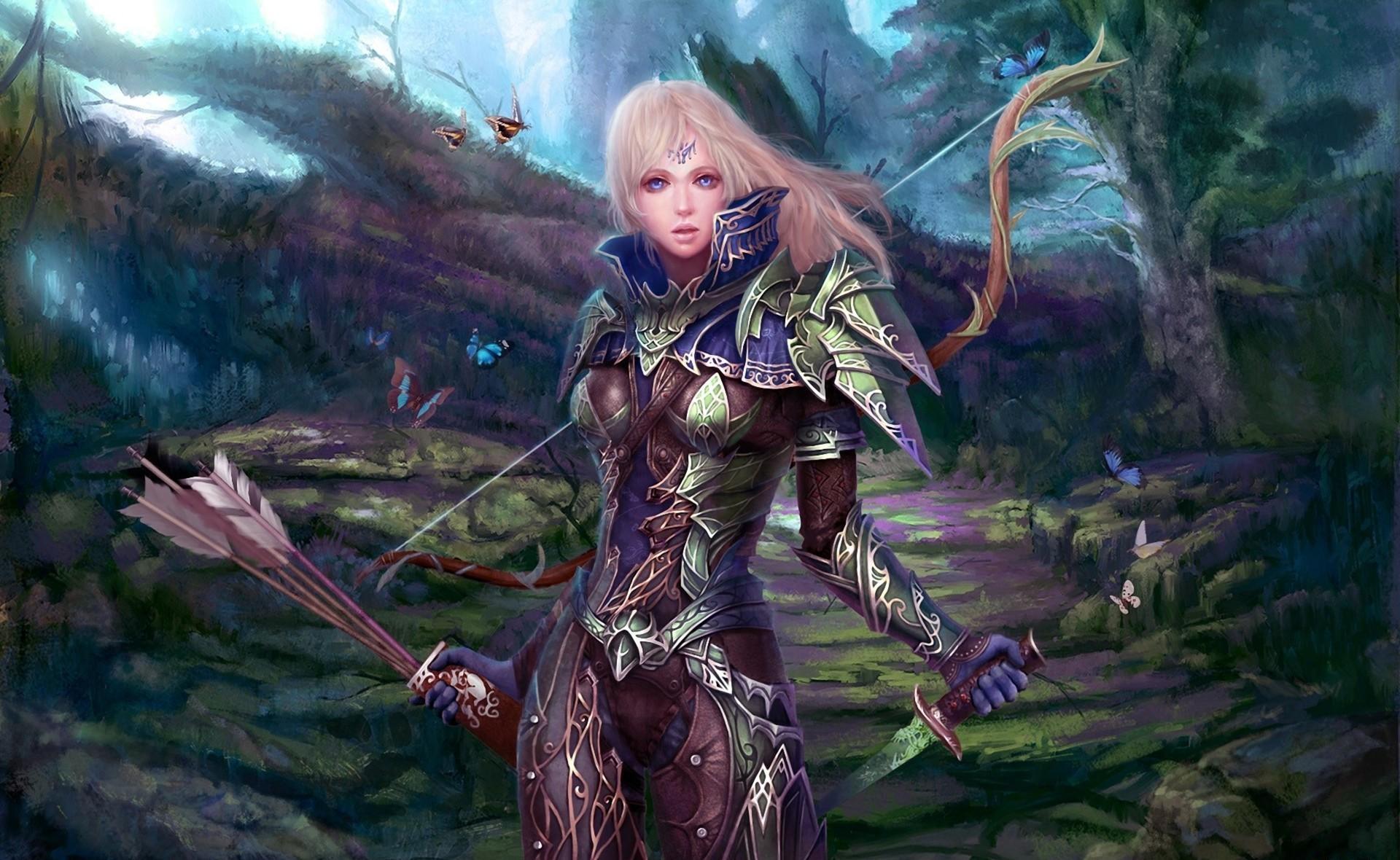 Картинки эльфиек из игры