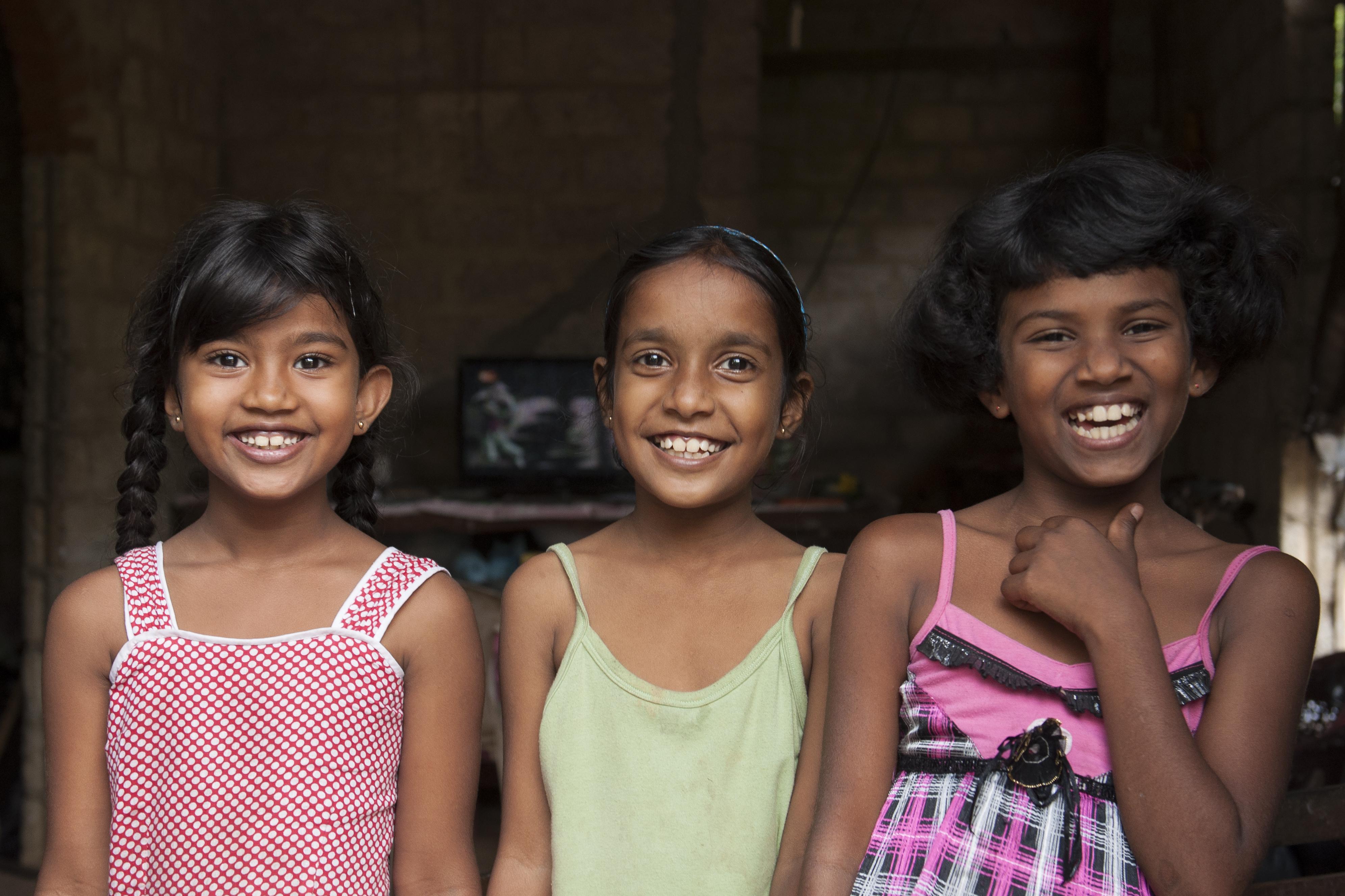 young sri lankan girls