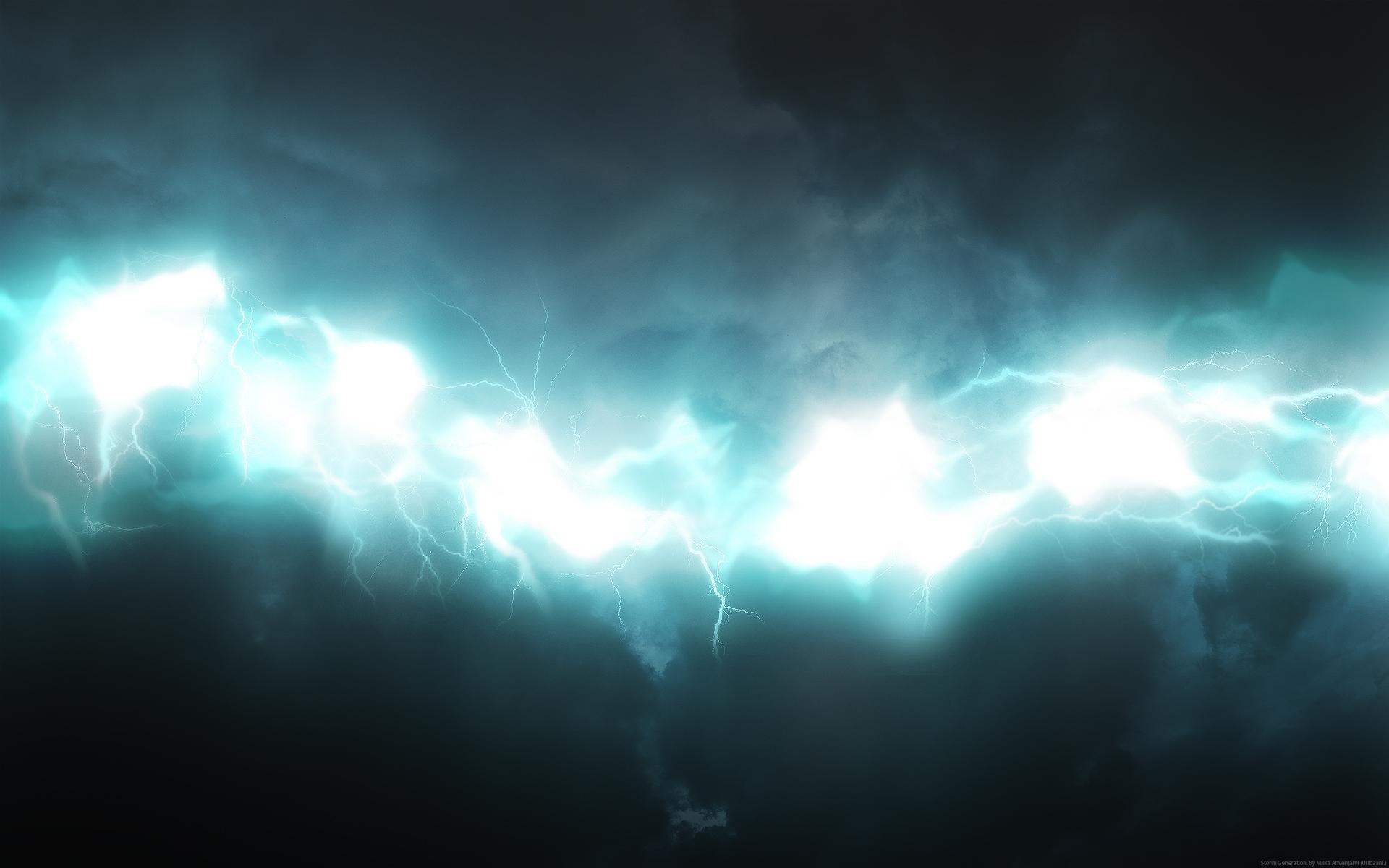 Glow Lightning Blue Shadow