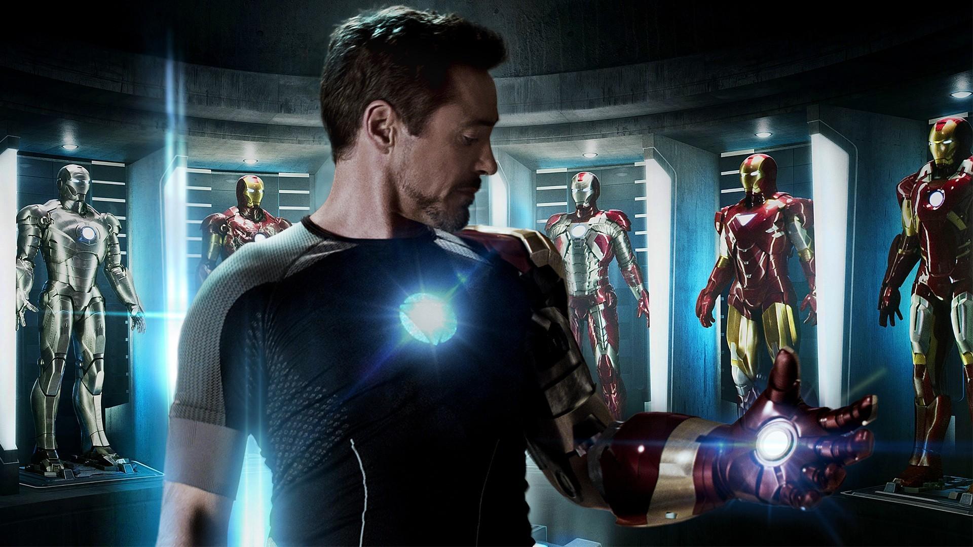 Tony Stark 4k Wallpaper: Wallpaper : Glowing, Movies, Superhero, Iron Man, The