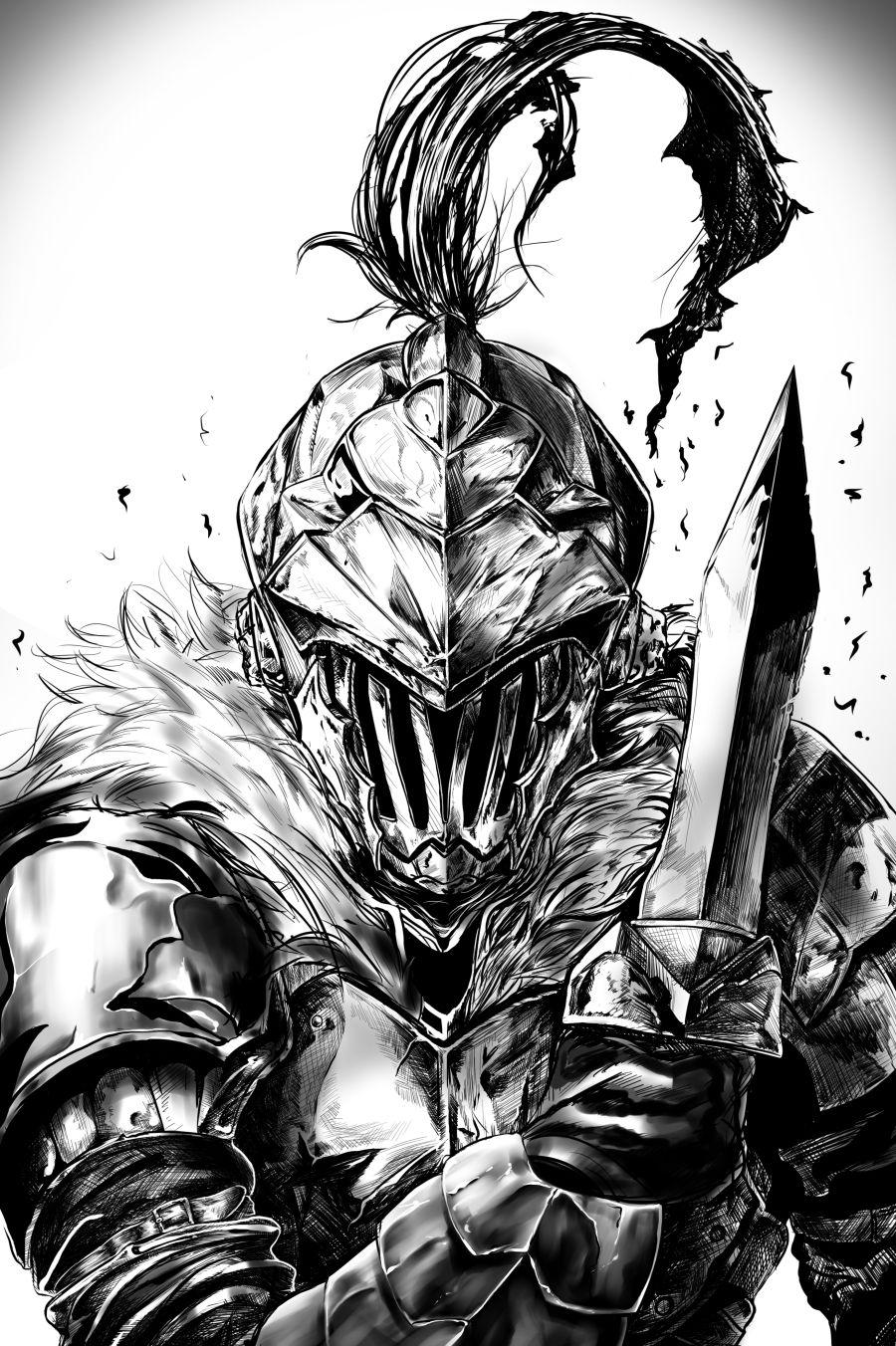 Hintergrundbilder Goblin Slayer Dolch Rüstung 900x1352