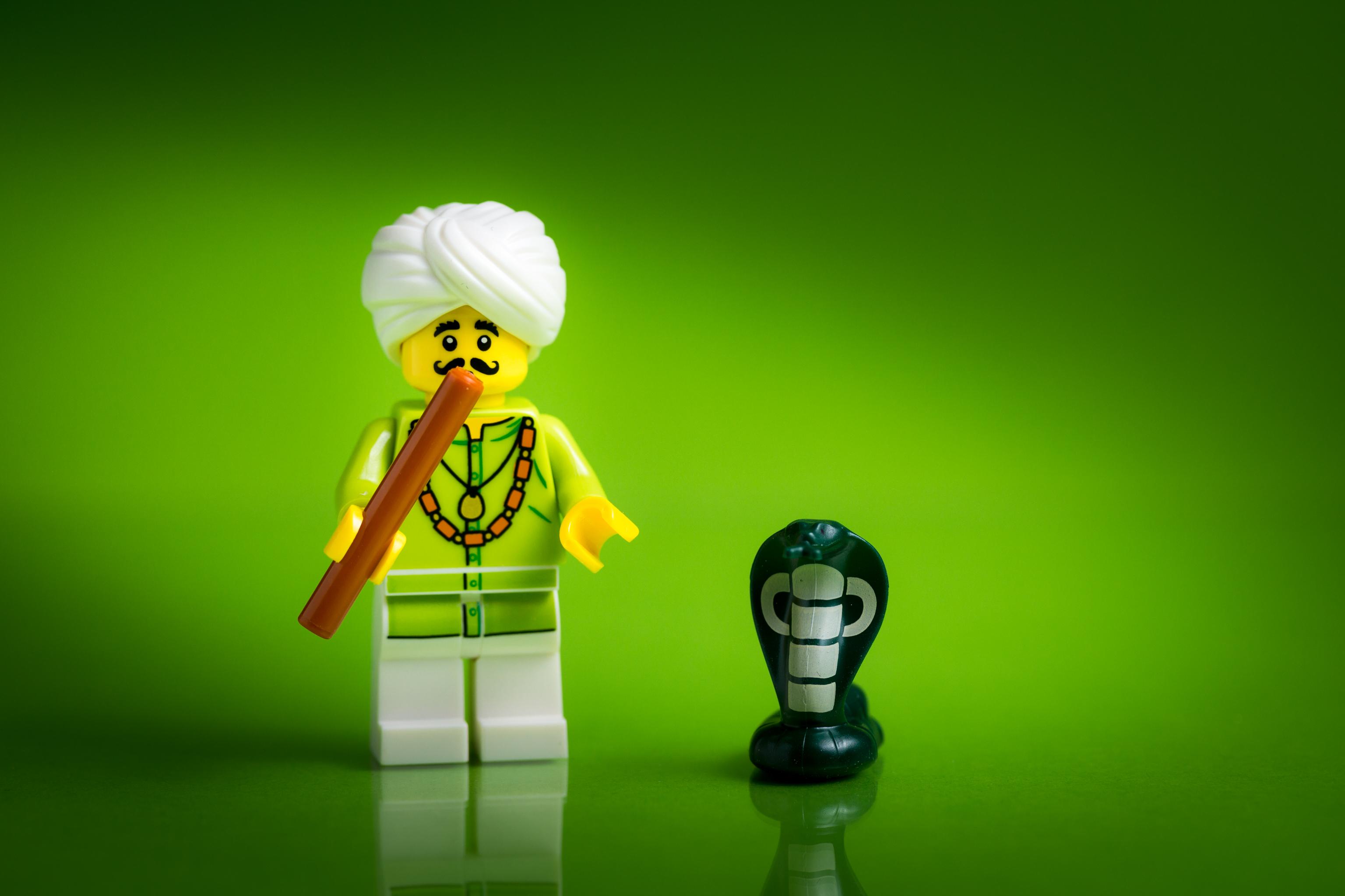 Sfondi Verde Giallo Giocattolo Fotografia Macro Lego Figurina