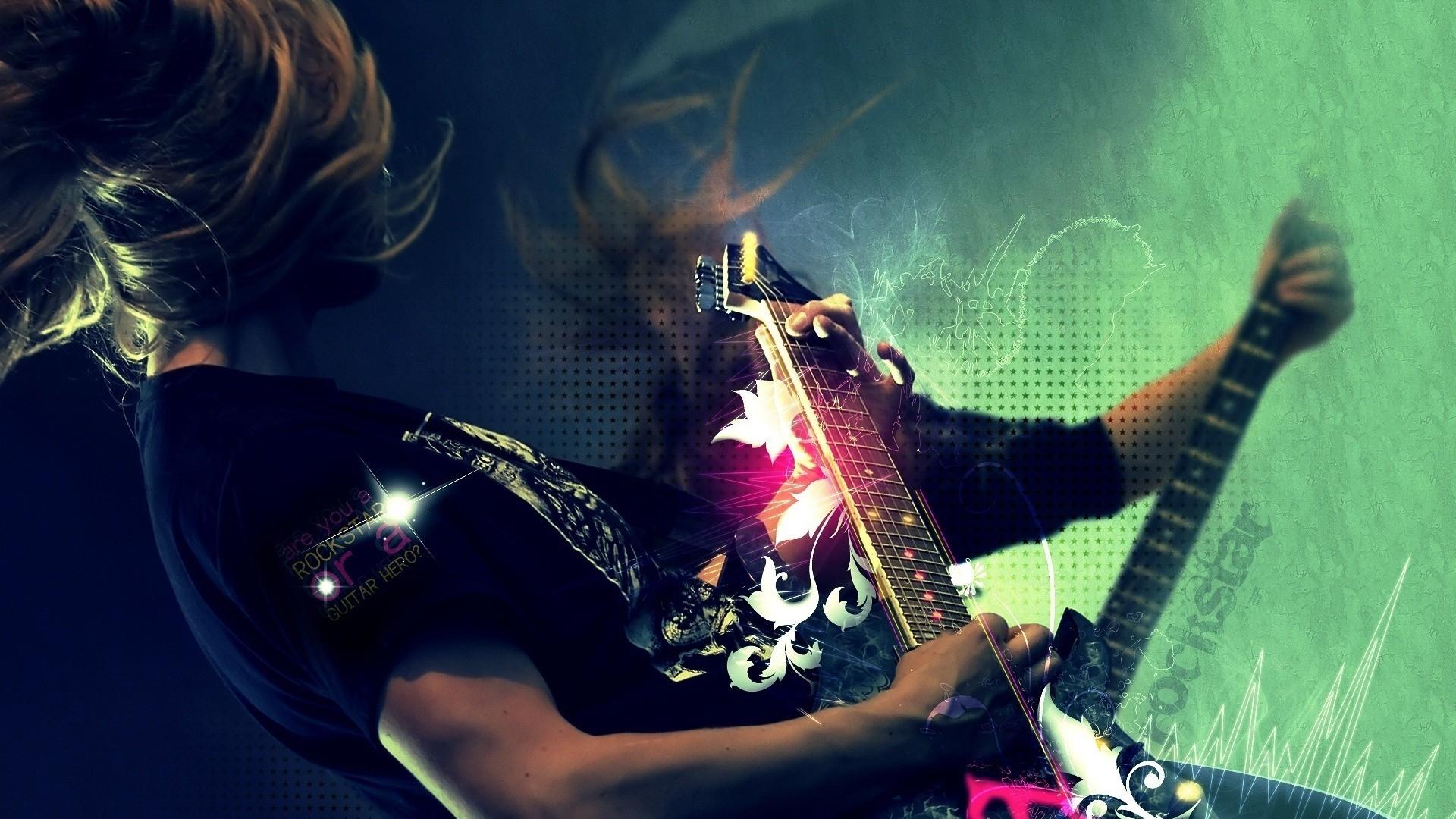 Обои Гитара, Человек, музыка. Музыка foto 17