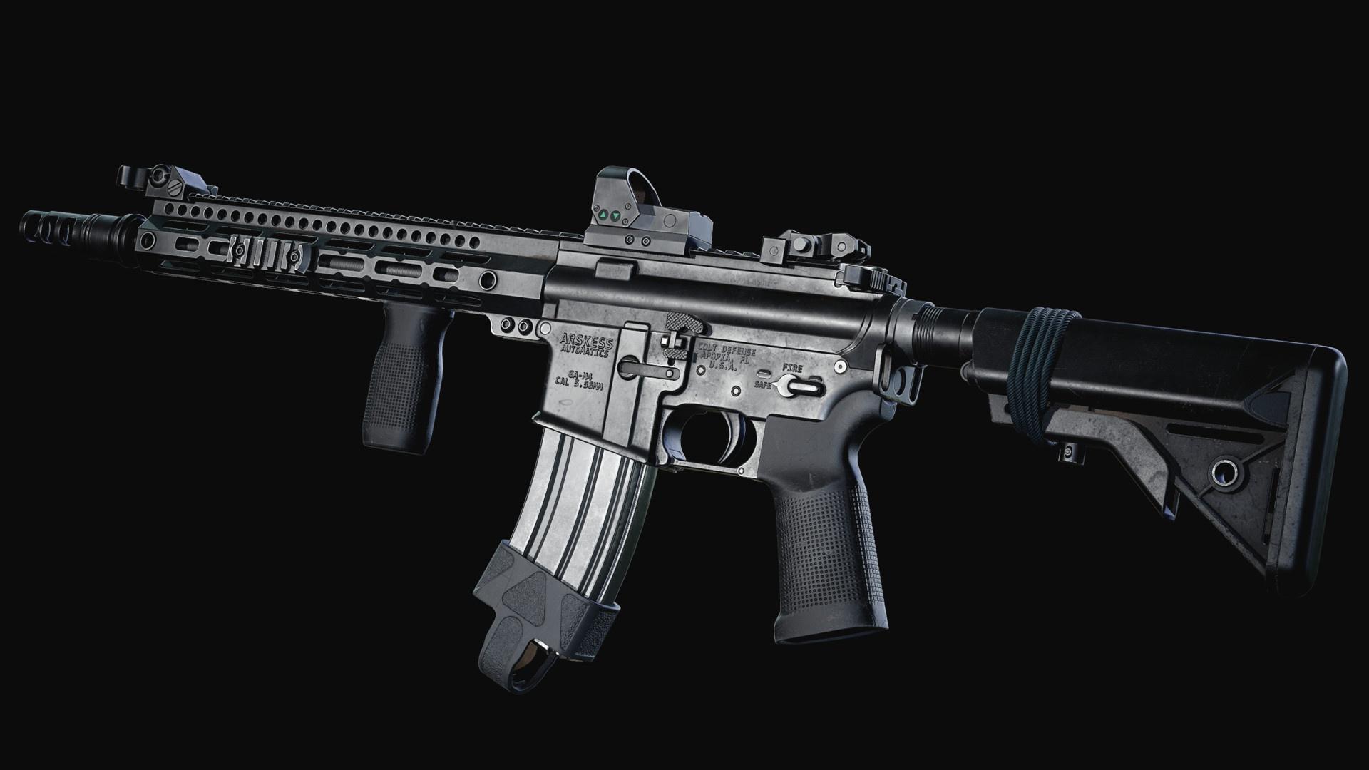デスクトップ壁紙 銃 Hk 416 1920x1080 Aichong 1693717