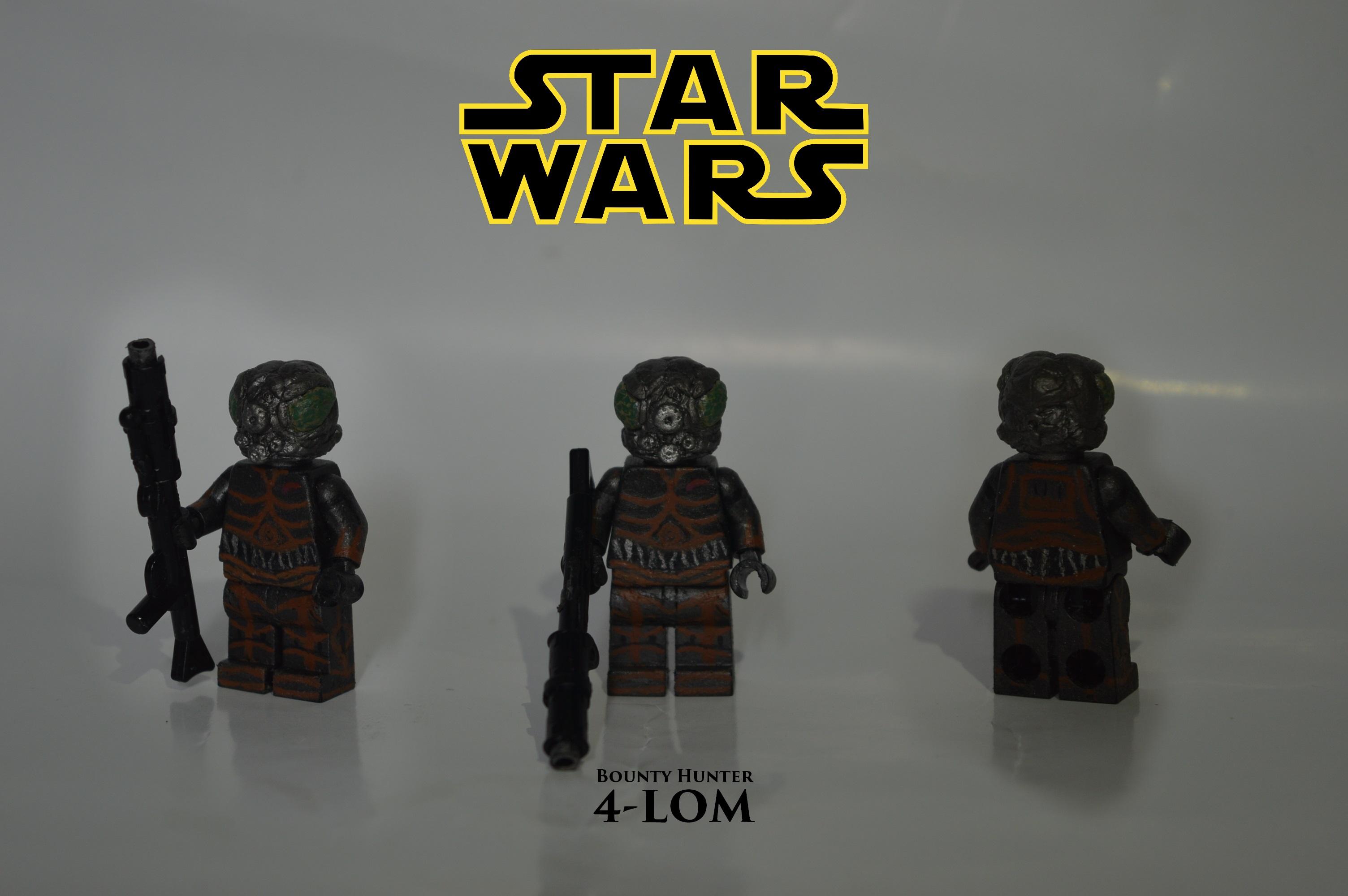 Wallpaper Gun Lego Back Dangerous Blaster Toy Hunter Person