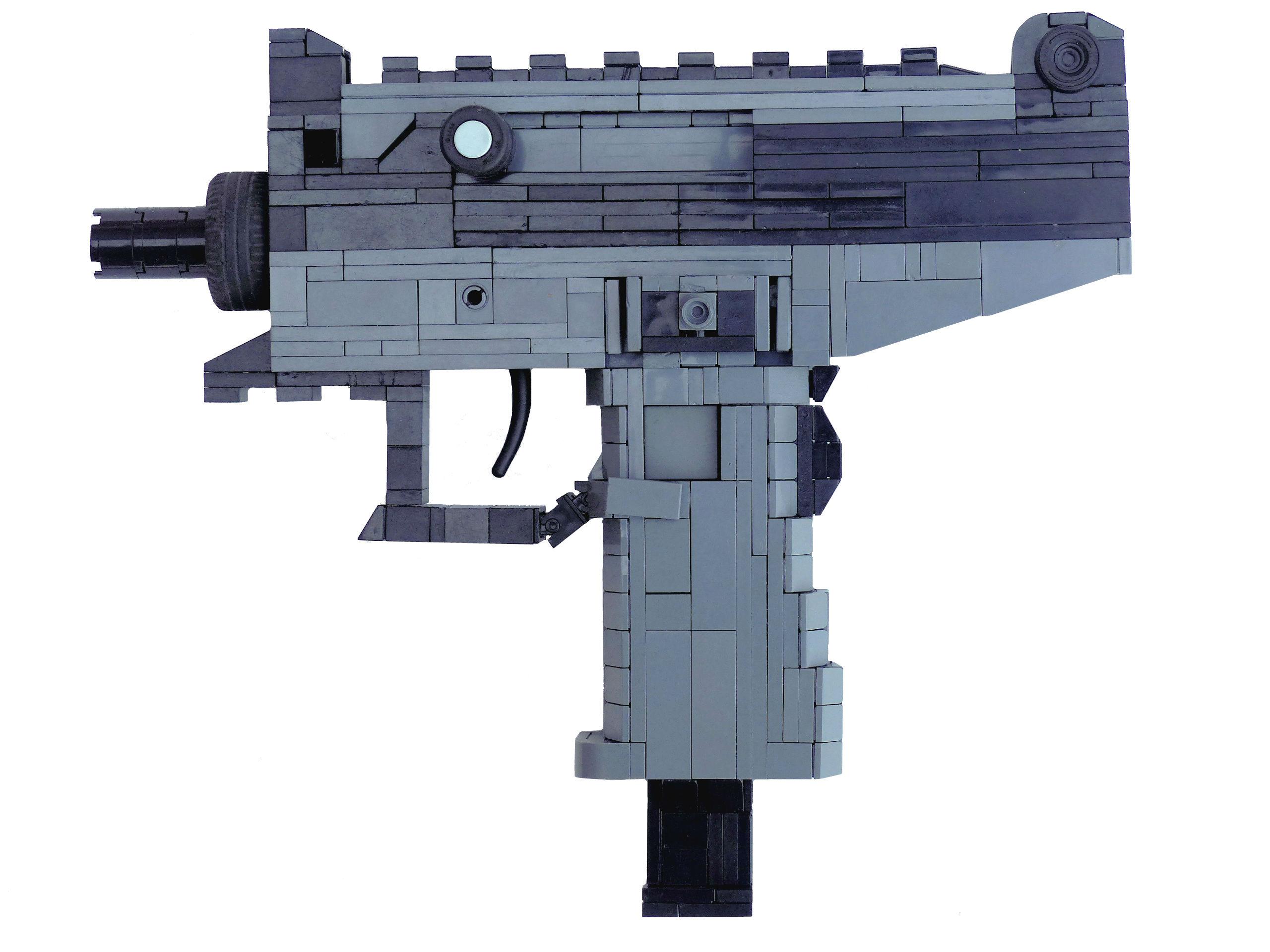 Hintergrundbilder Gewehr Lego Maschine Pistole Profi Uzi