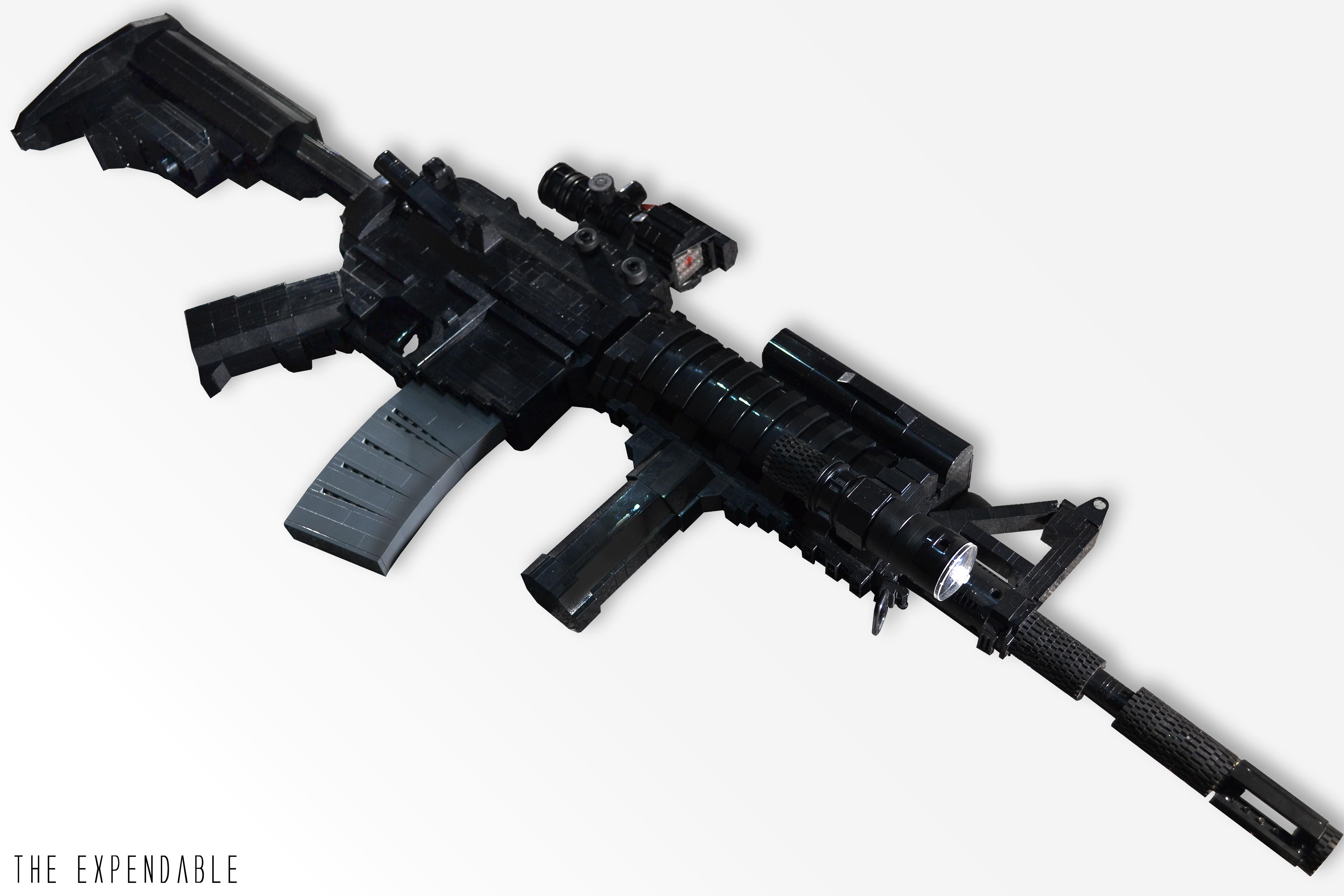 Wallpaper : gun, LEGO, rifle, weapon, lifesize, Colt, M4