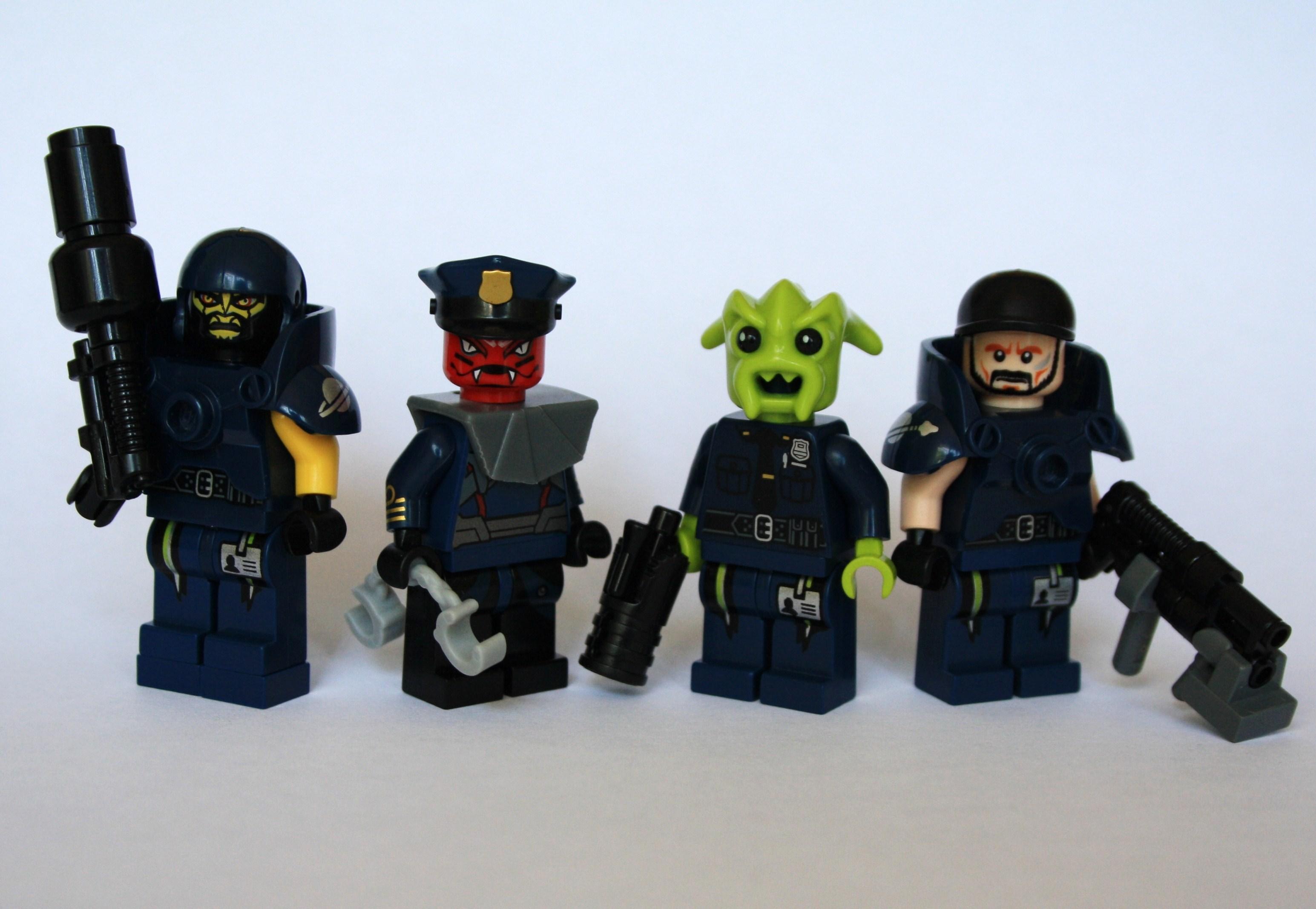Hintergrundbilder Gewehr Lego Platz Polizei Pistole Zukunft