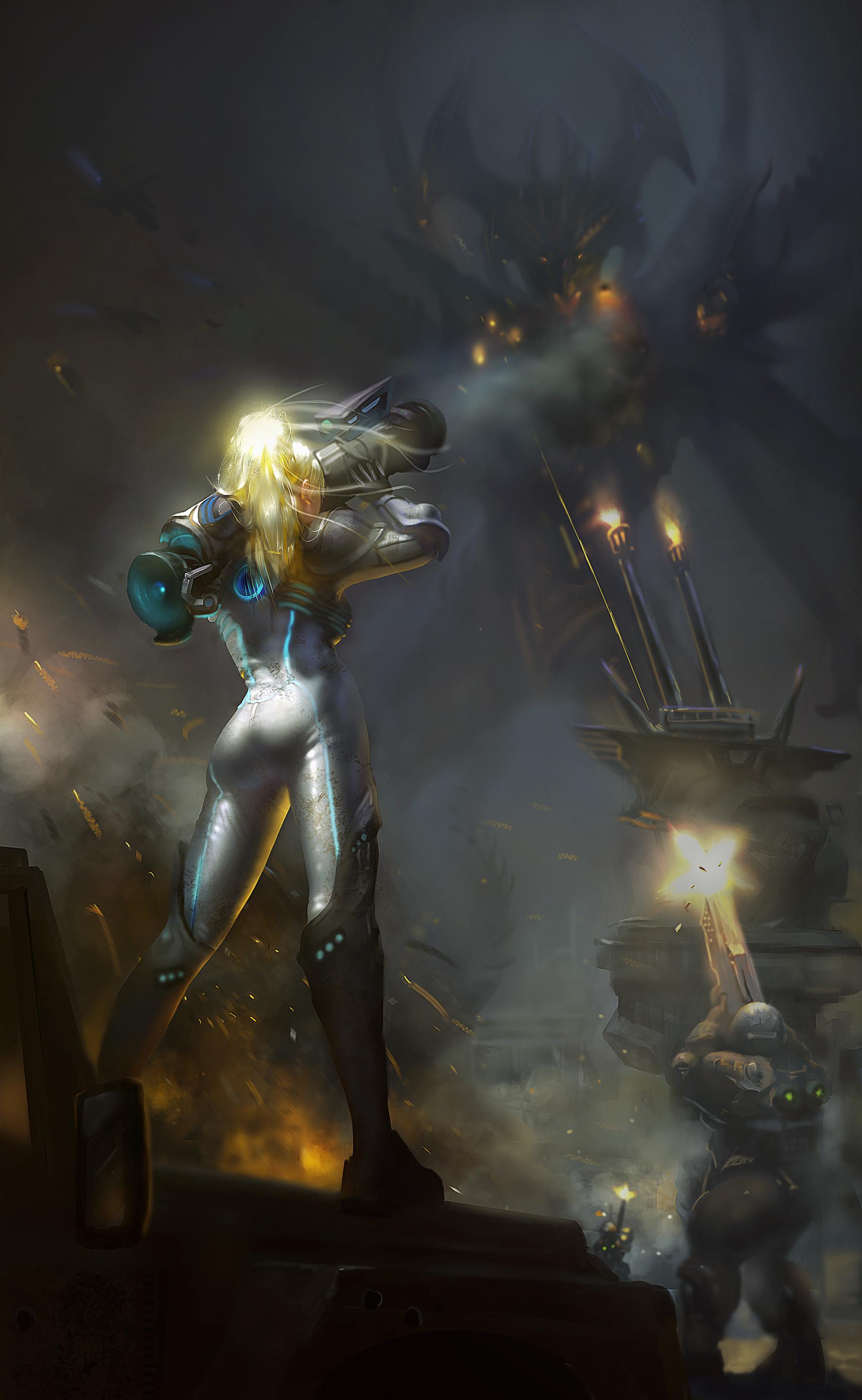 Wallpaper Gun Heroes Of The Storm Nova 1827x2968 Dretador